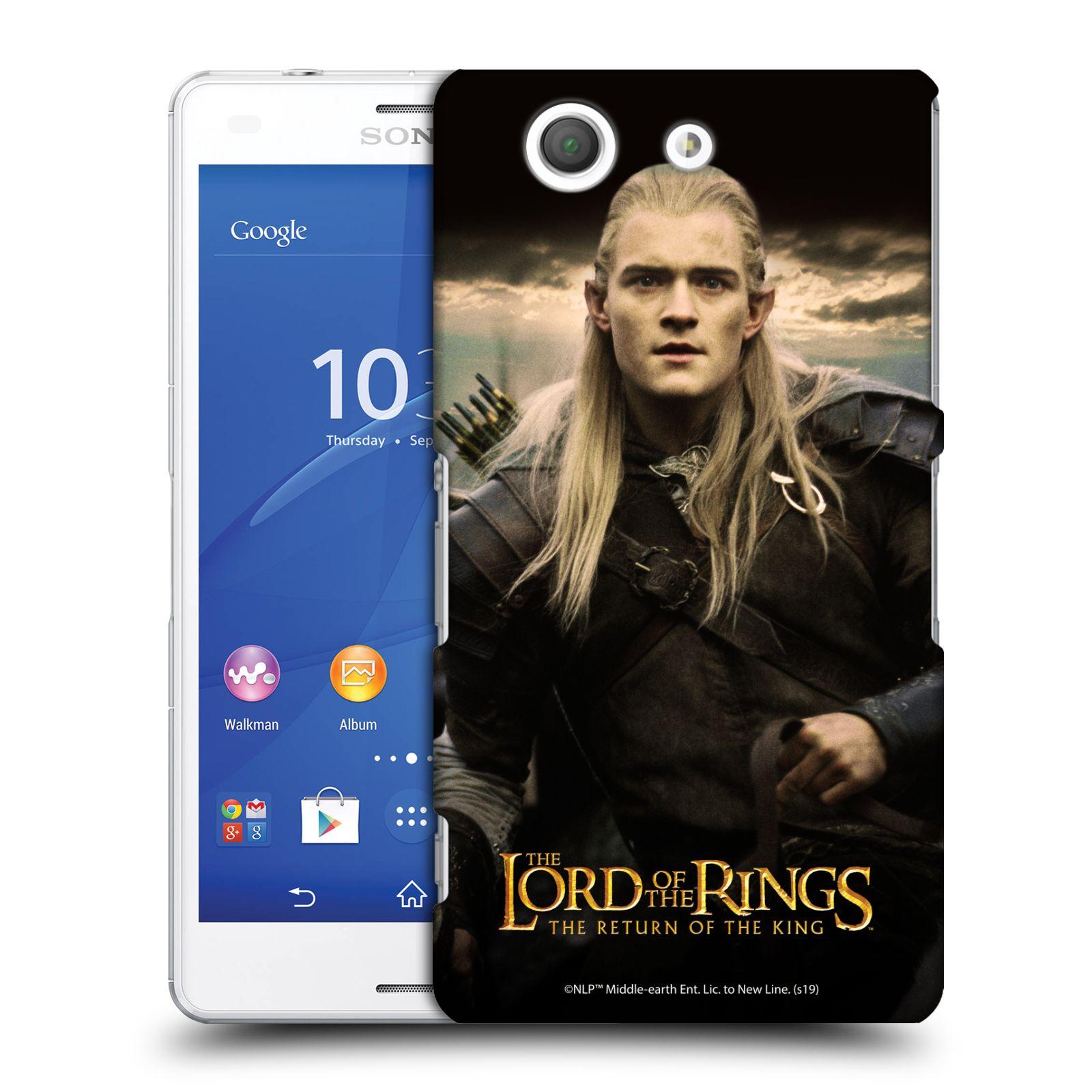 Pouzdro na mobil Sony Xperia Z3 COMPACT - HEAD CASE - Pán Prstenů - Elf Legolas