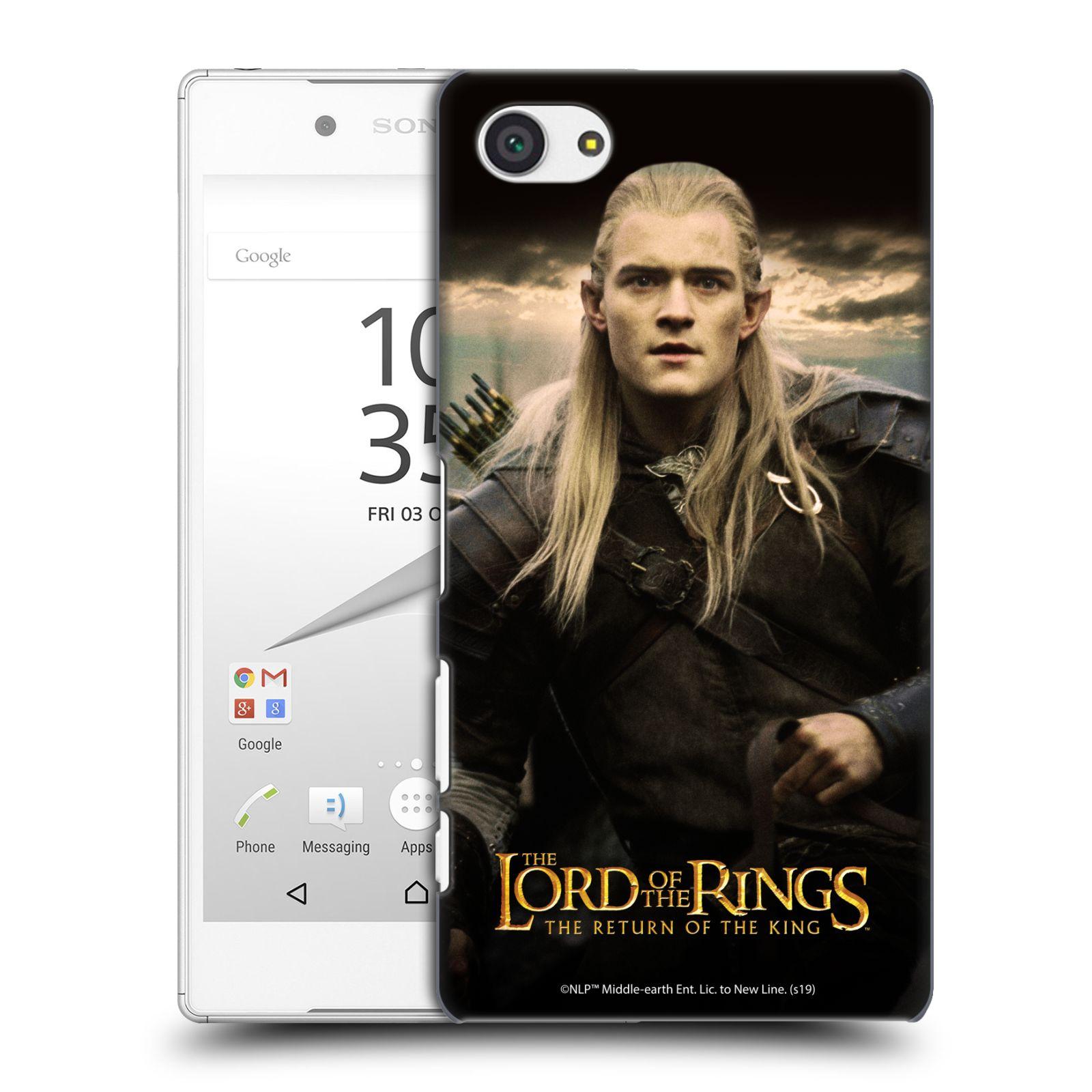 Pouzdro na mobil Sony Xperia Z5 COMPACT - HEAD CASE - Pán Prstenů - Elf Legolas
