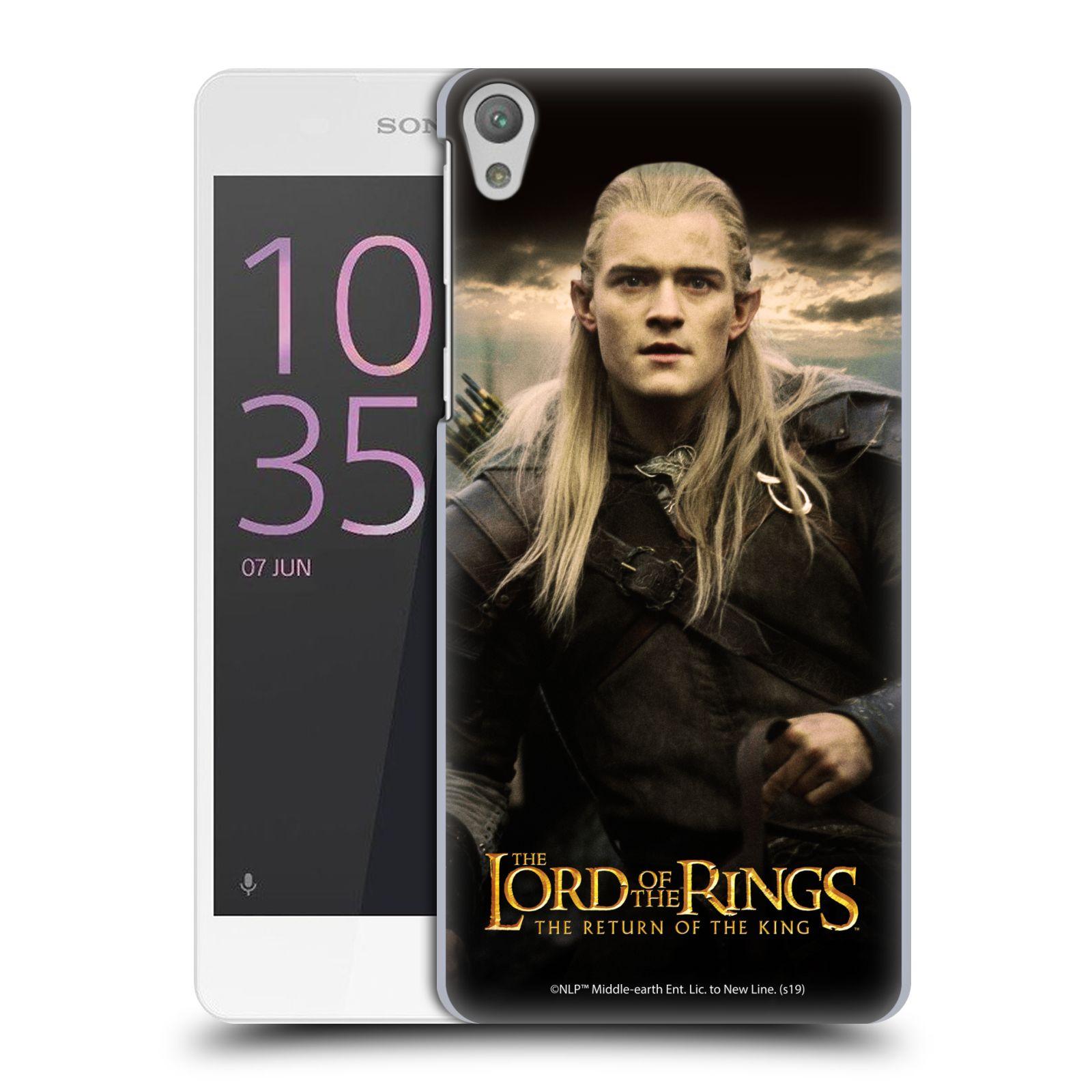 Pouzdro na mobil Sony Xperia E5 - HEAD CASE - Pán Prstenů - Elf Legolas