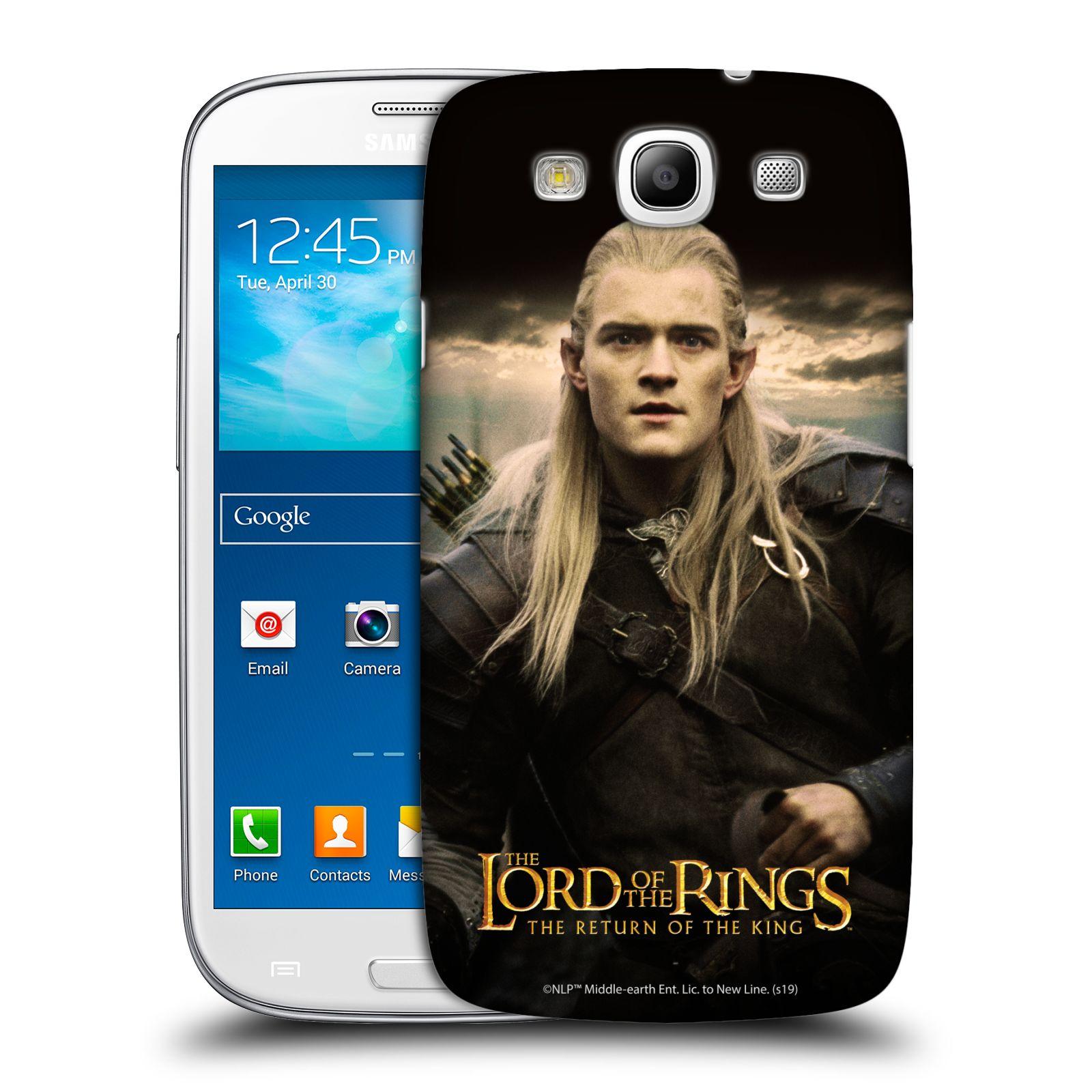 Pouzdro na mobil Samsung Galaxy S3 - HEAD CASE - Pán Prstenů - Elf Legolas