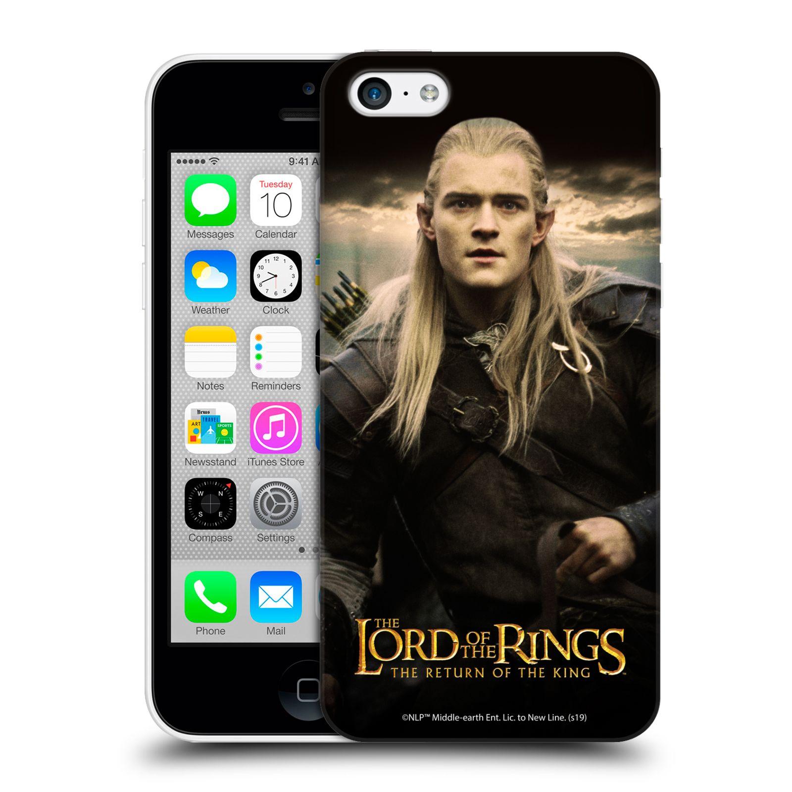 Pouzdro na mobil Apple Iphone 5C - HEAD CASE - Pán Prstenů - Elf Legolas