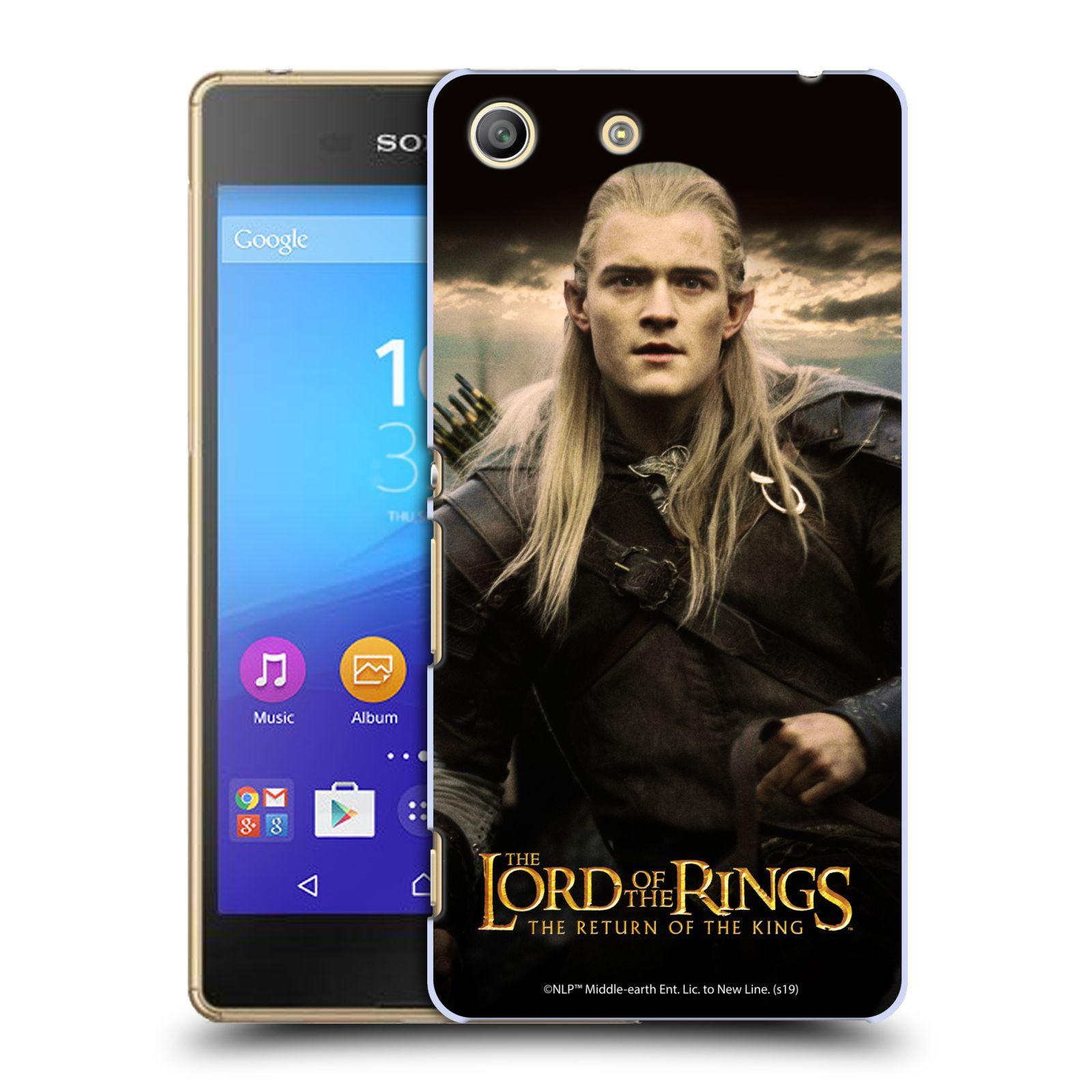 Pouzdro na mobil Sony Xperia M5 - HEAD CASE - Pán Prstenů - Elf Legolas