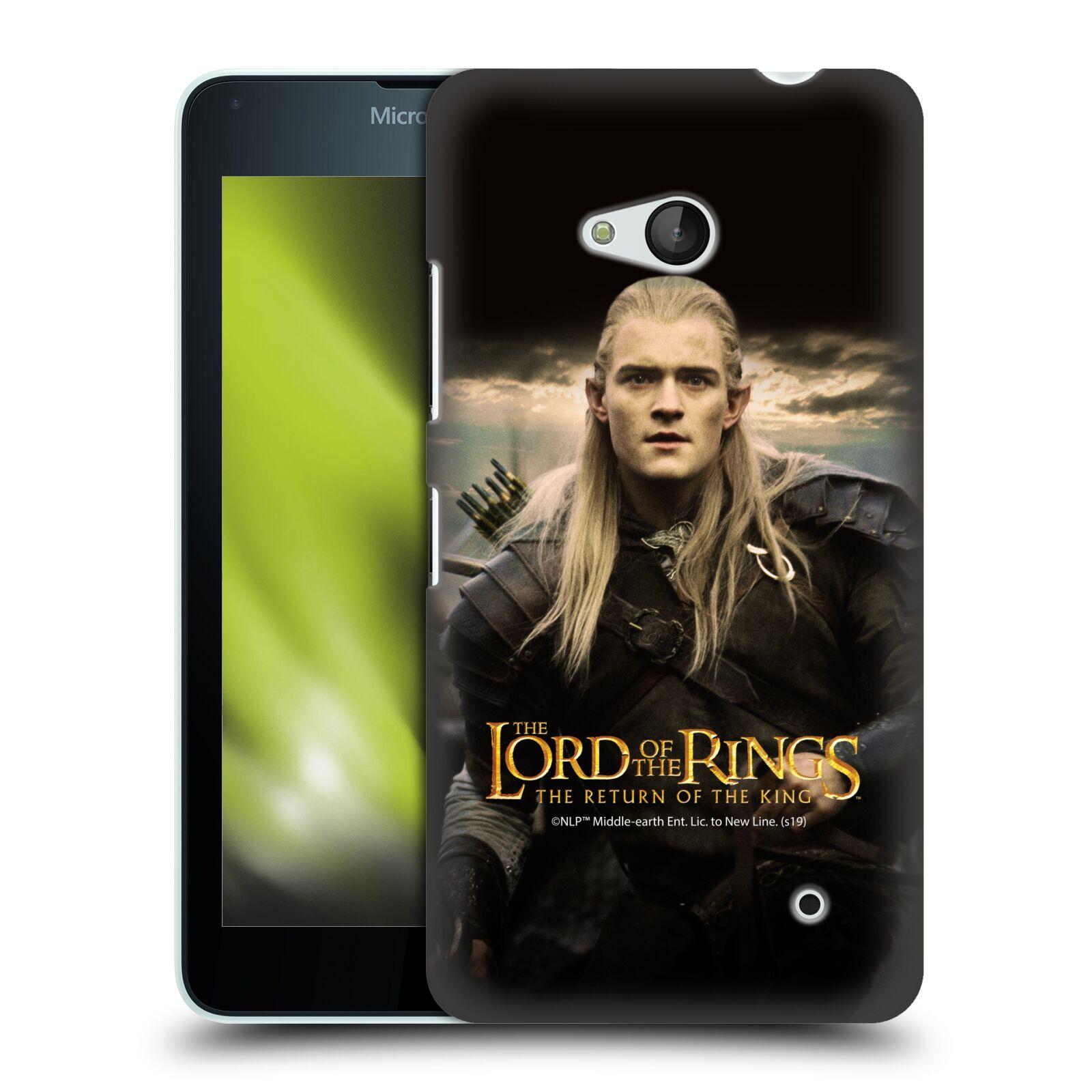Pouzdro na mobil Microsoft Lumia 640 / 640 DUAL SIM - HEAD CASE - Pán Prstenů - Elf Legolas