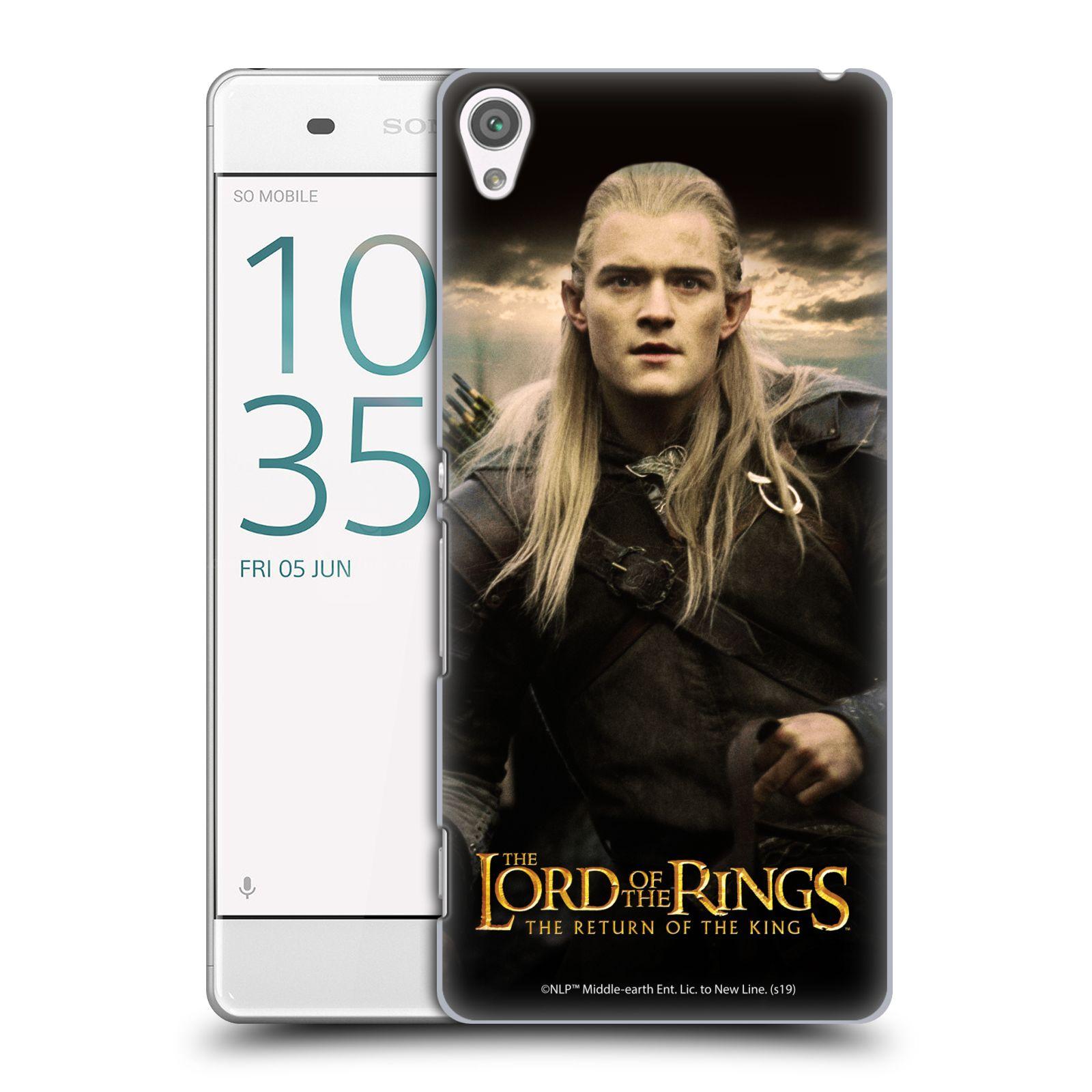 Pouzdro na mobil Sony Xperia XA - HEAD CASE - Pán Prstenů - Elf Legolas