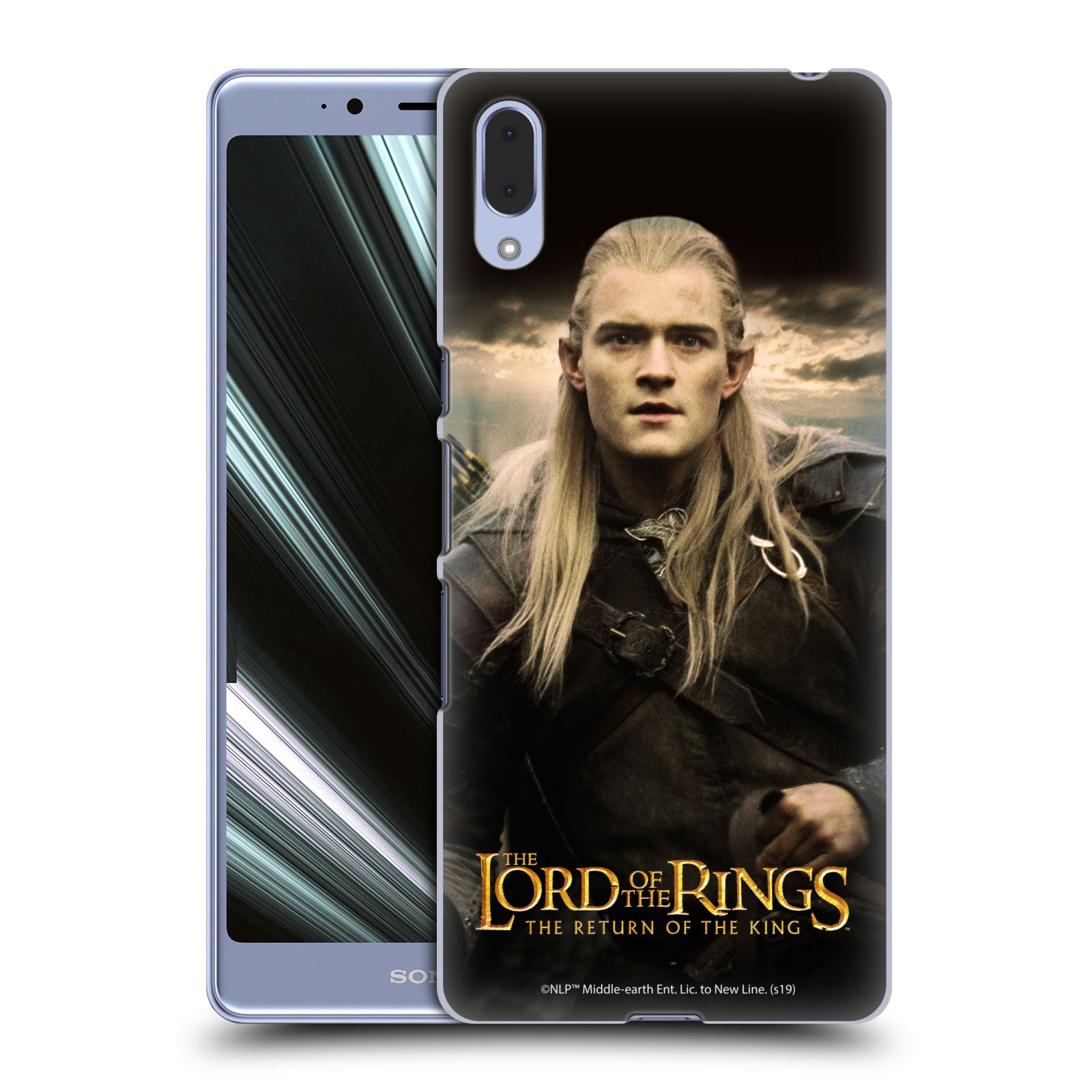 Pouzdro na mobil Sony Xperia L3 - HEAD CASE - Pán Prstenů - Elf Legolas
