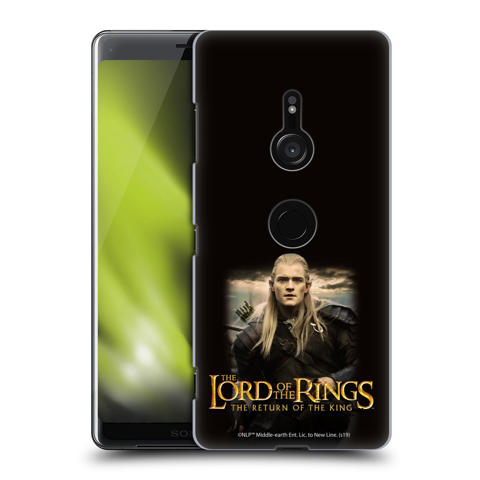 Pouzdro na mobil Sony Xperia XZ3 - HEAD CASE - Pán Prstenů - Elf Legolas