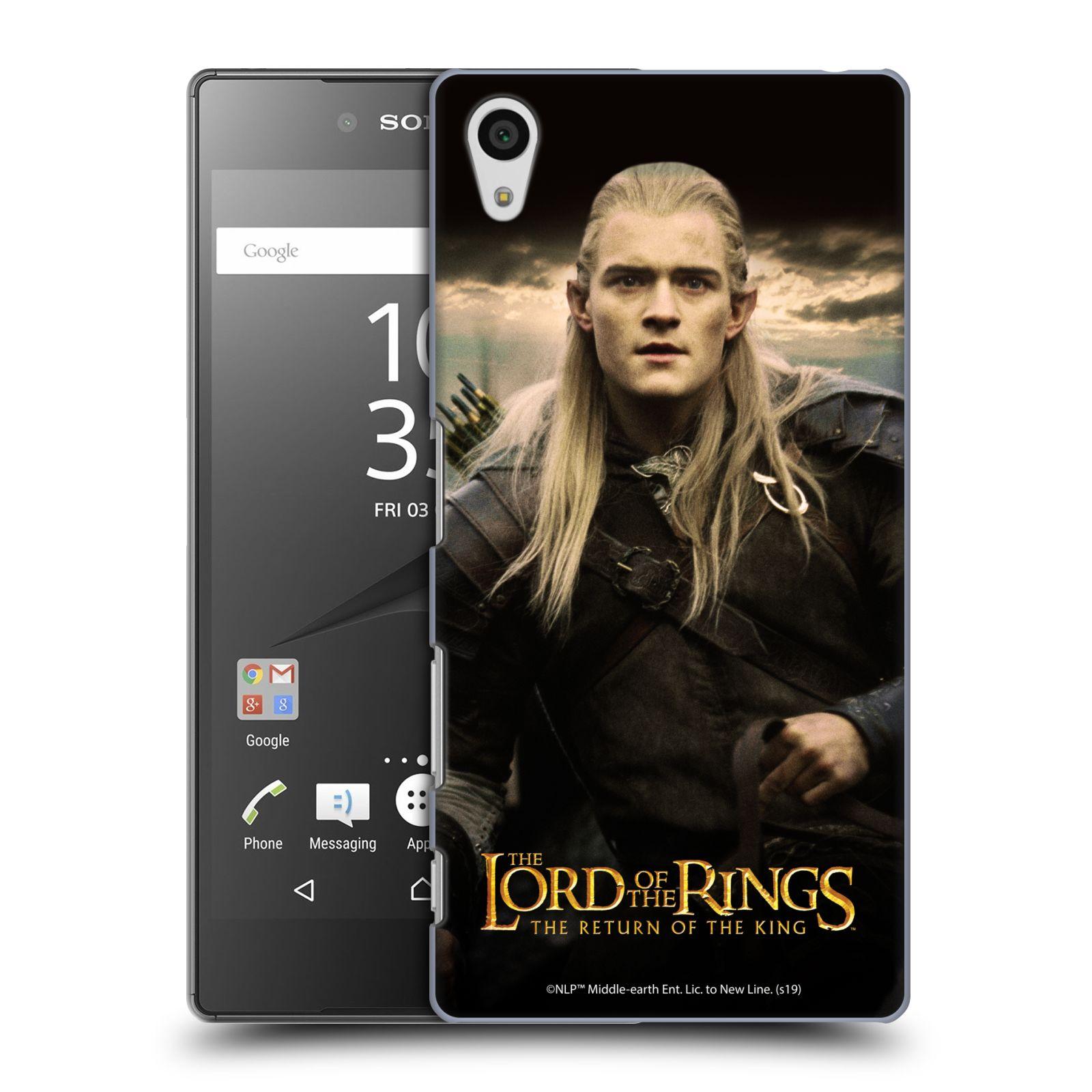 Pouzdro na mobil Sony Xperia Z5 - HEAD CASE - Pán Prstenů - Elf Legolas