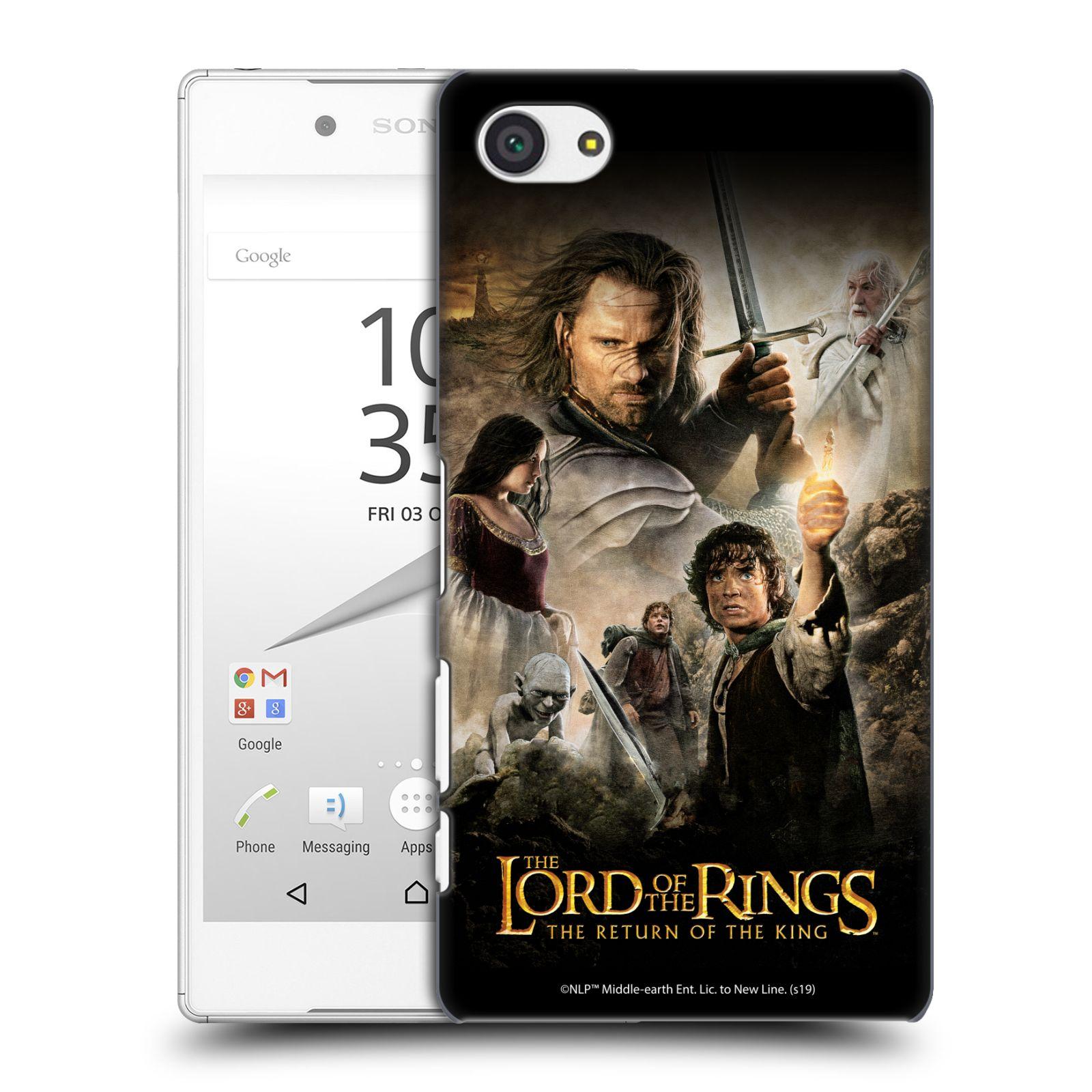 Pouzdro na mobil Sony Xperia Z5 COMPACT - HEAD CASE - Pán Prstenů - Hlavní postavy