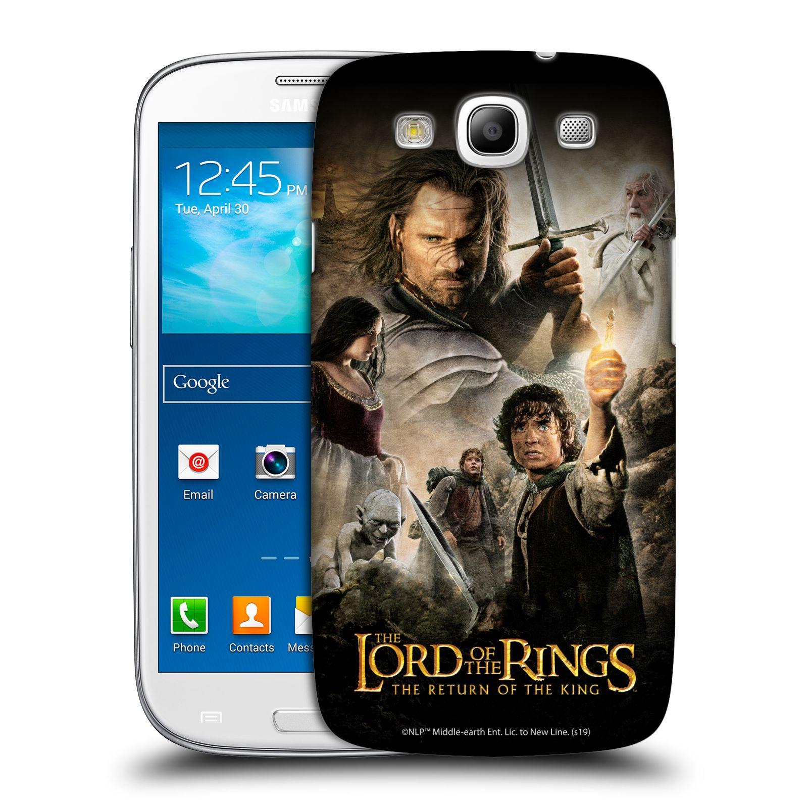 Pouzdro na mobil Samsung Galaxy S3 - HEAD CASE - Pán Prstenů - Hlavní postavy