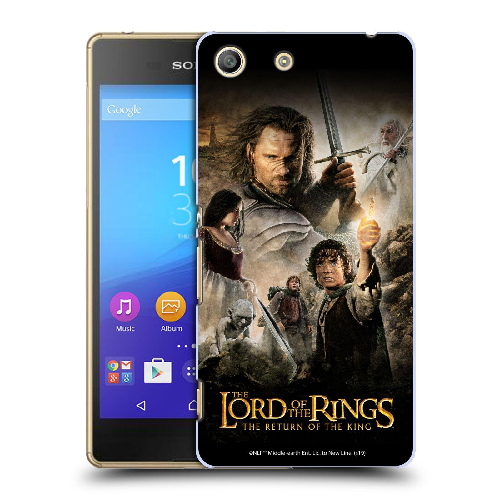 Pouzdro na mobil Sony Xperia M5 - HEAD CASE - Pán Prstenů - Hlavní postavy