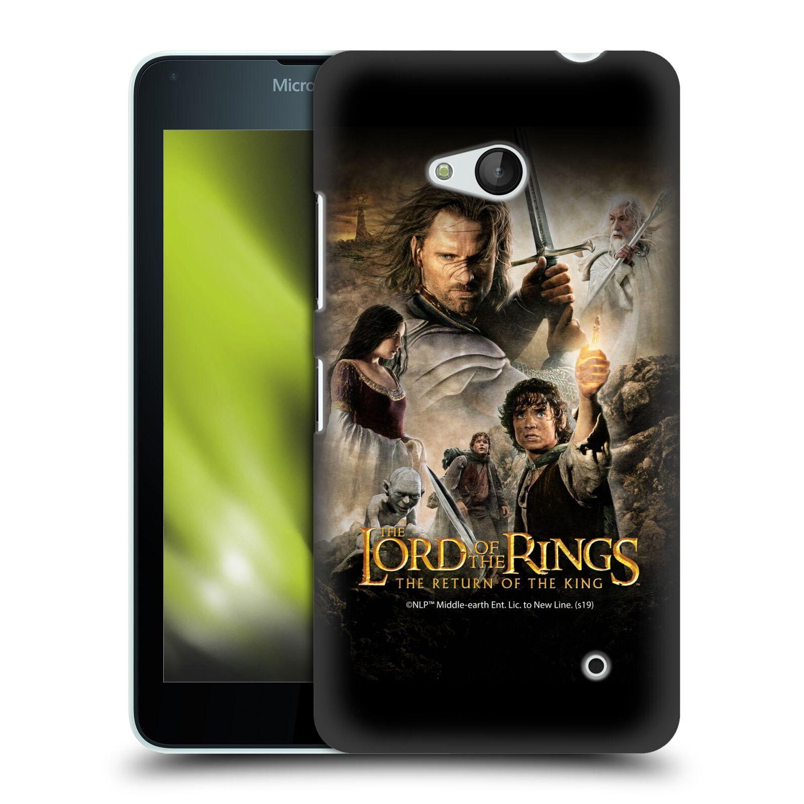 Pouzdro na mobil Microsoft Lumia 640 / 640 DUAL SIM - HEAD CASE - Pán Prstenů - Hlavní postavy