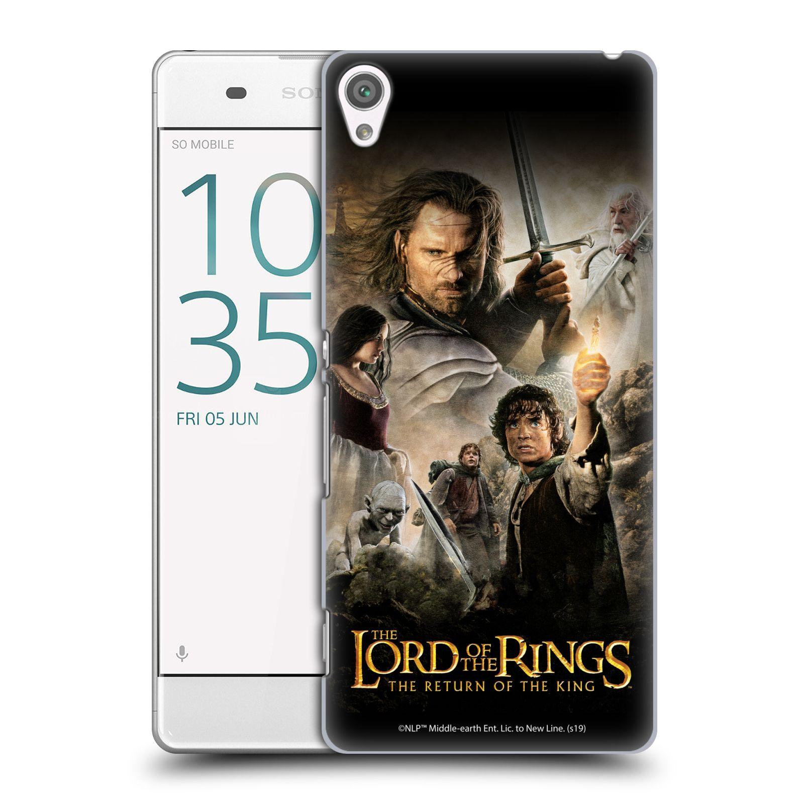 Pouzdro na mobil Sony Xperia XA - HEAD CASE - Pán Prstenů - Hlavní postavy