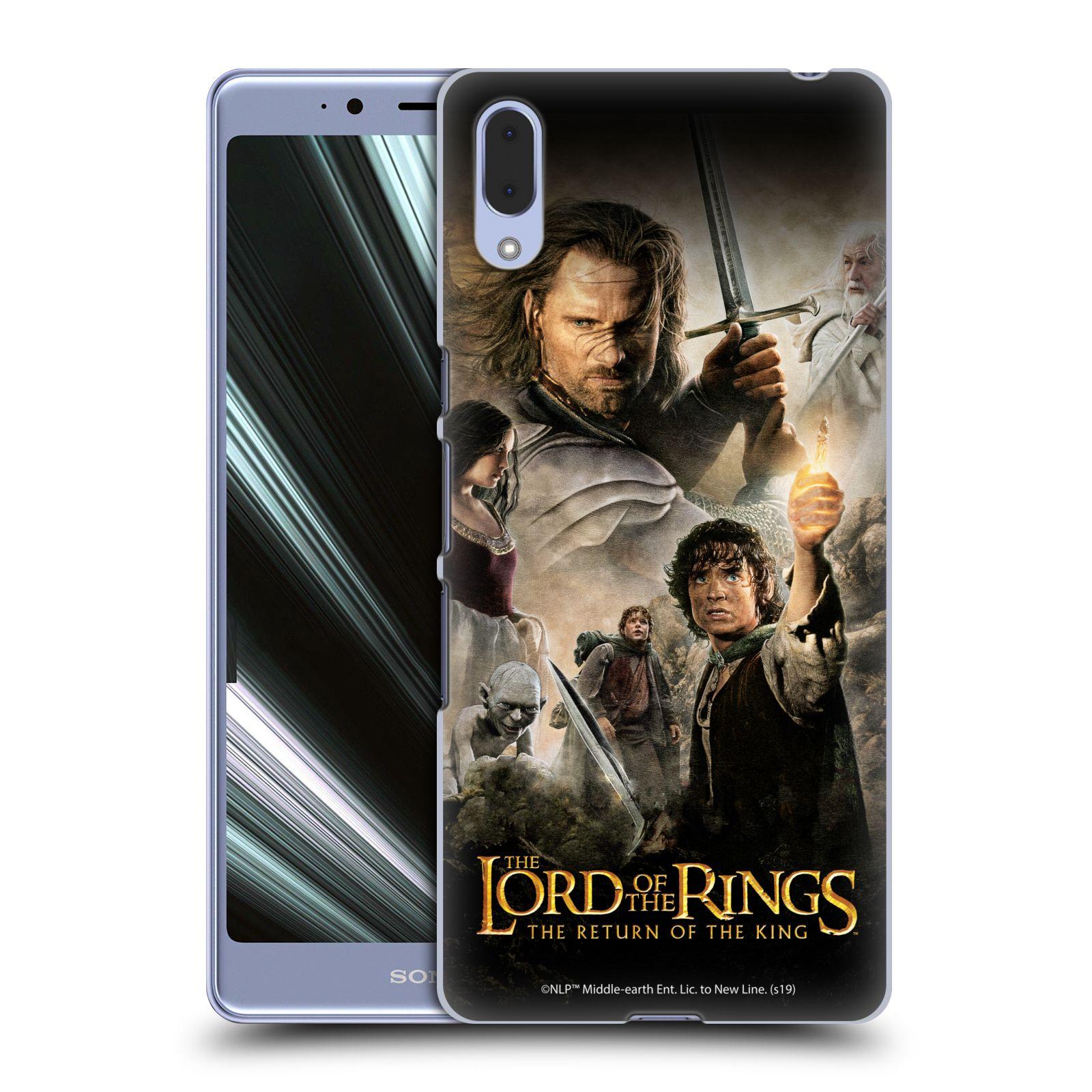 Pouzdro na mobil Sony Xperia L3 - HEAD CASE - Pán Prstenů - Hlavní postavy