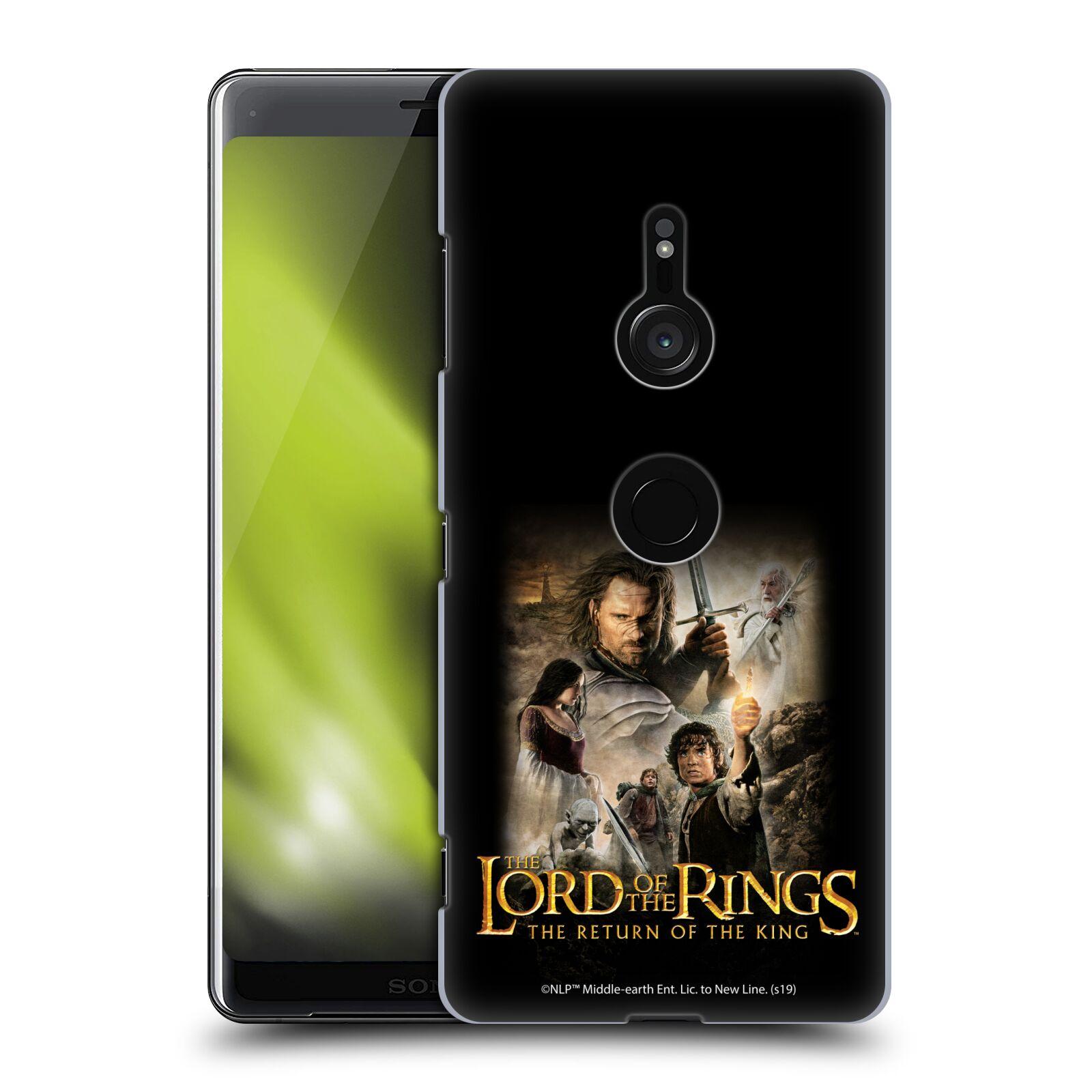 Pouzdro na mobil Sony Xperia XZ3 - HEAD CASE - Pán Prstenů - Hlavní postavy