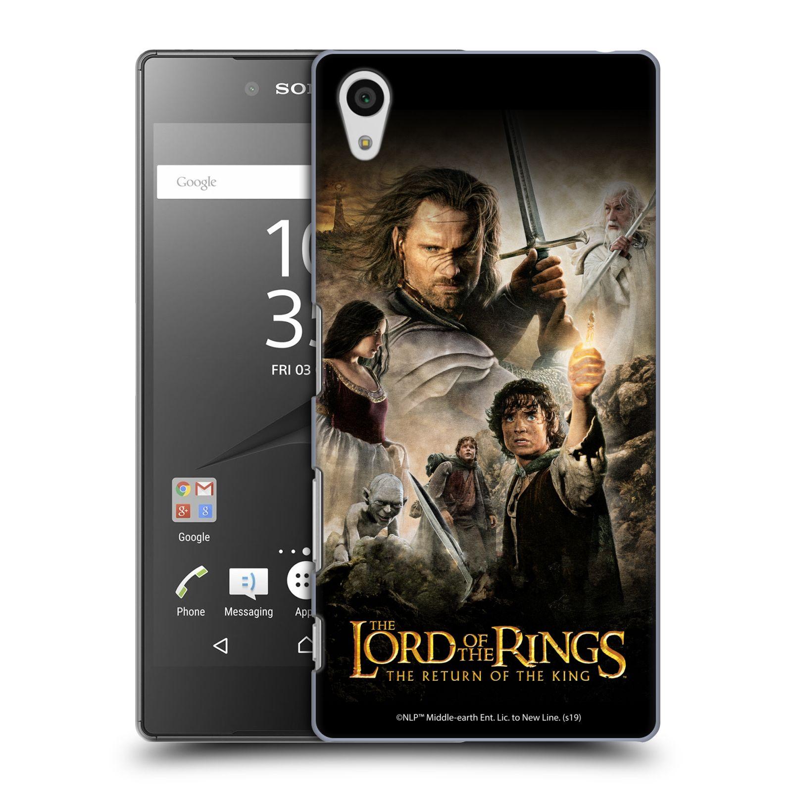 Pouzdro na mobil Sony Xperia Z5 - HEAD CASE - Pán Prstenů - Hlavní postavy
