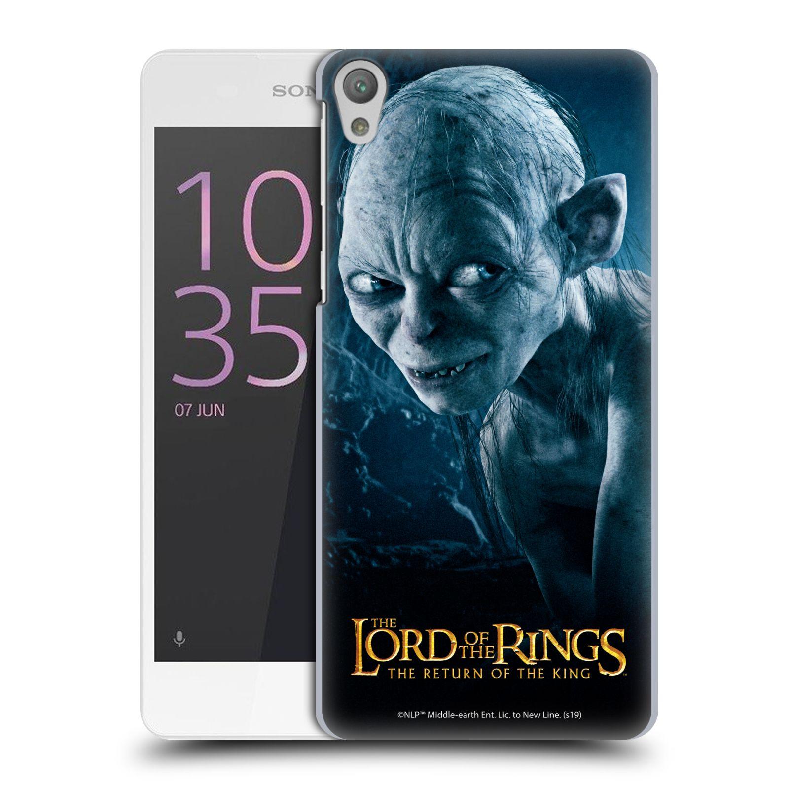 Pouzdro na mobil Sony Xperia E5 - HEAD CASE - Pán Prstenů - Smeagol milášek