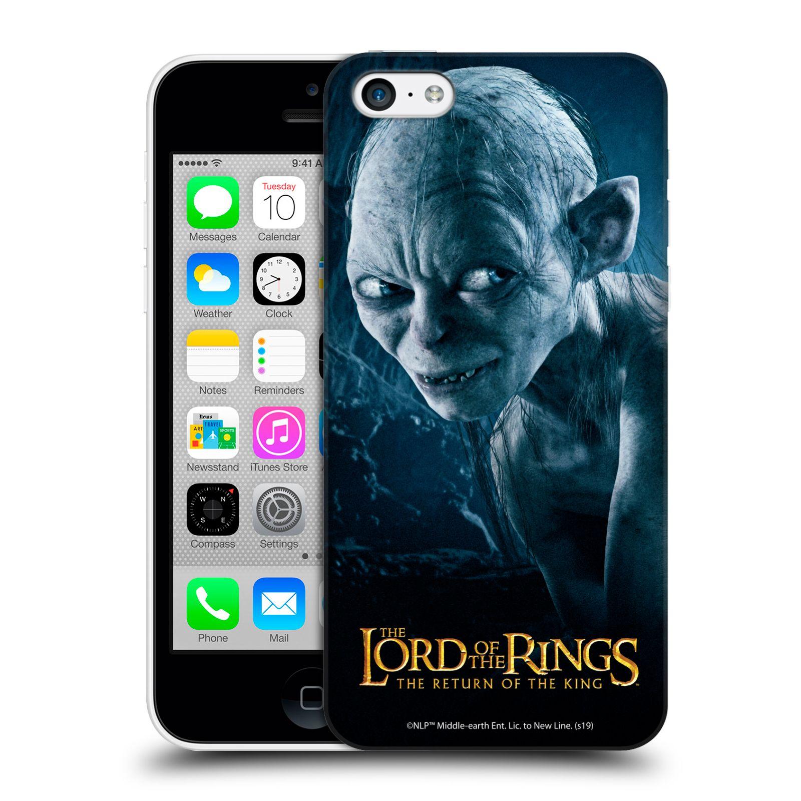 Pouzdro na mobil Apple Iphone 5C - HEAD CASE - Pán Prstenů - Smeagol milášek