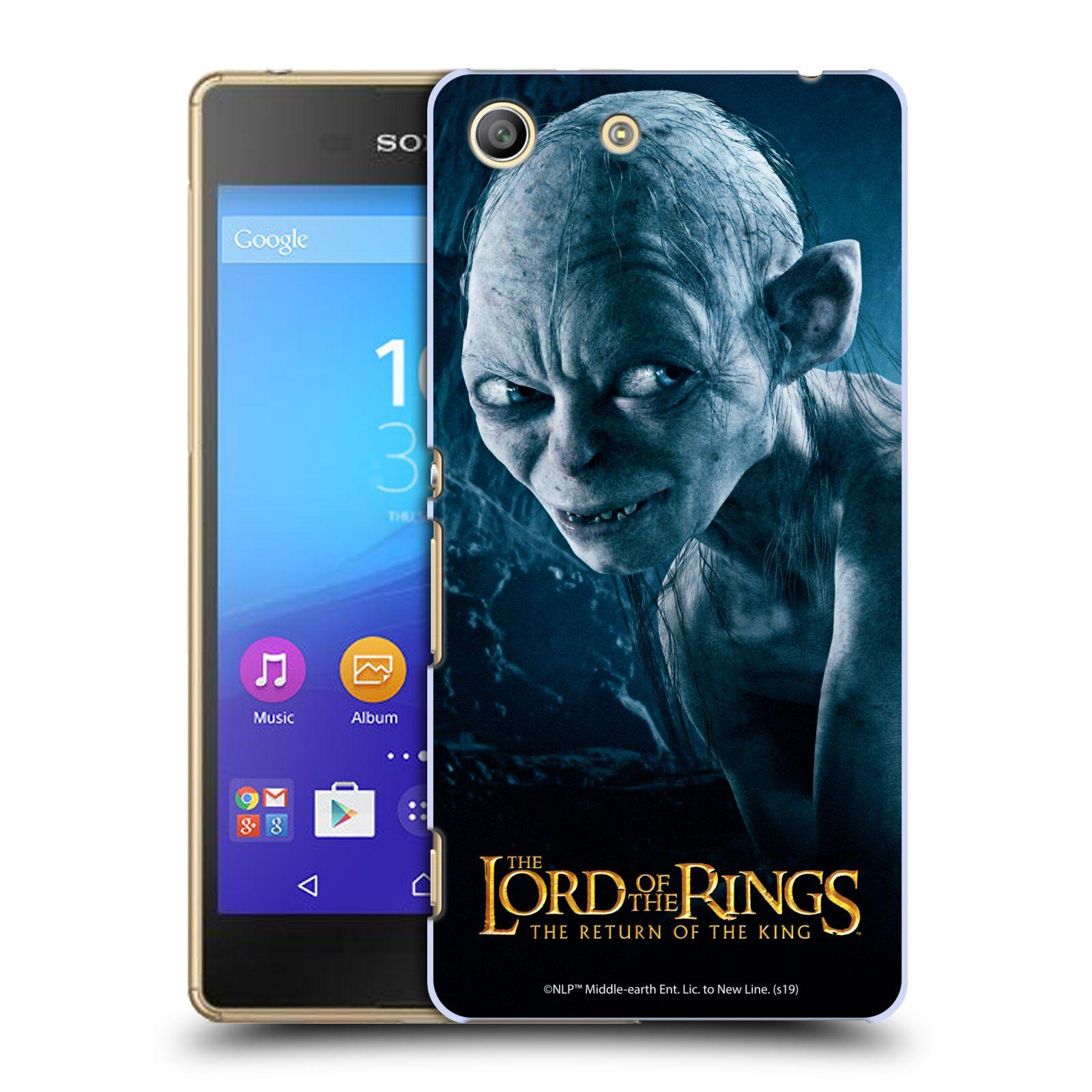 Pouzdro na mobil Sony Xperia M5 - HEAD CASE - Pán Prstenů - Smeagol milášek