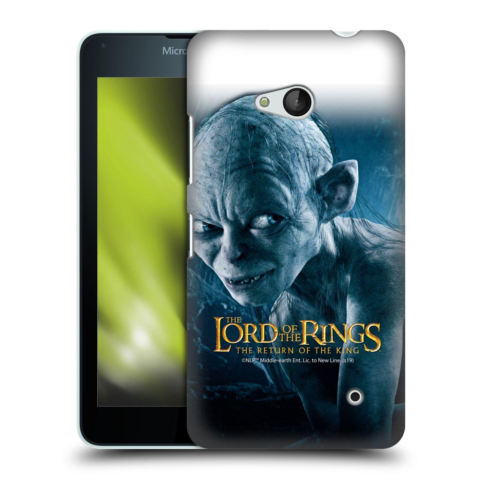 Pouzdro na mobil Microsoft Lumia 640 / 640 DUAL SIM - HEAD CASE - Pán Prstenů - Smeagol milášek