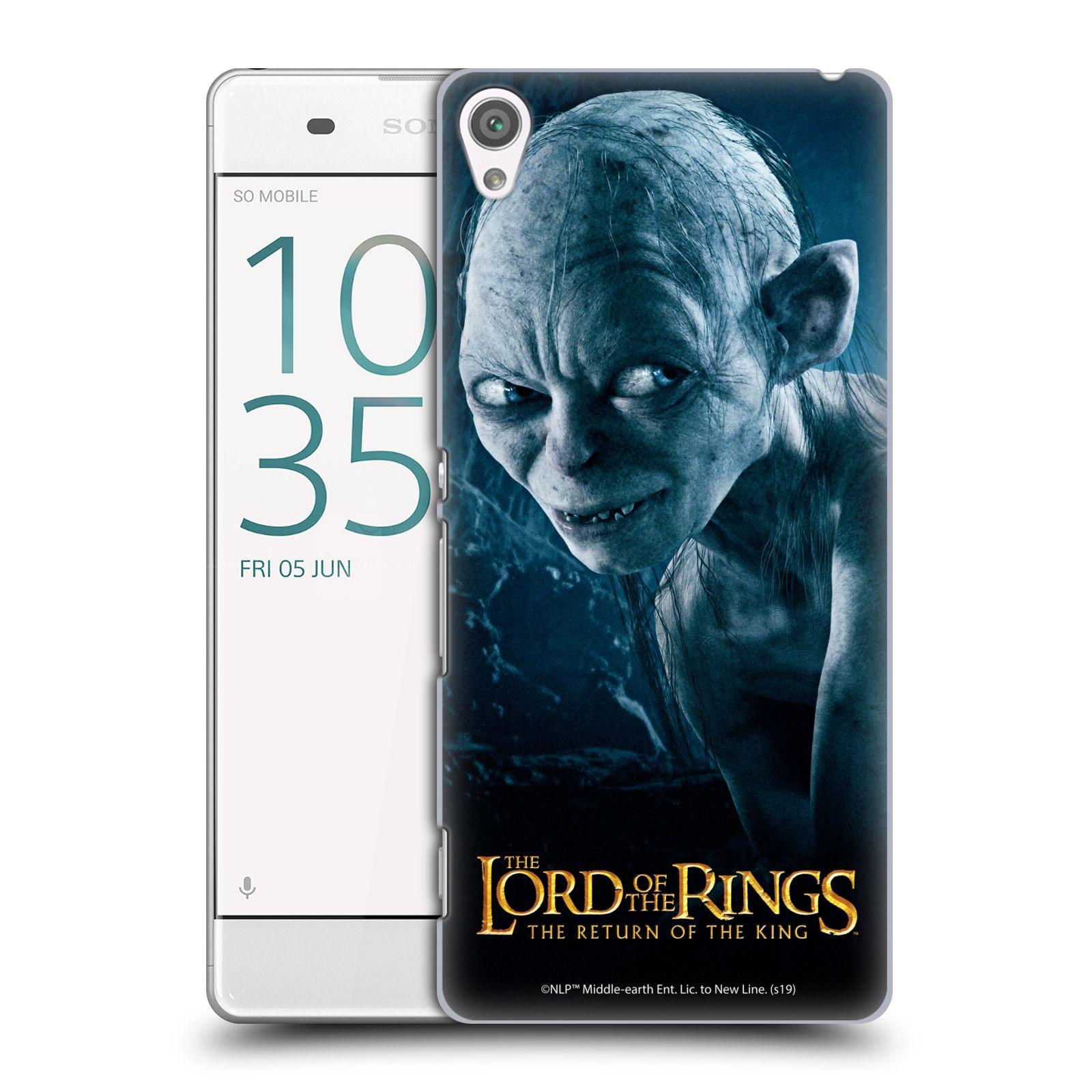 Pouzdro na mobil Sony Xperia XA - HEAD CASE - Pán Prstenů - Smeagol milášek