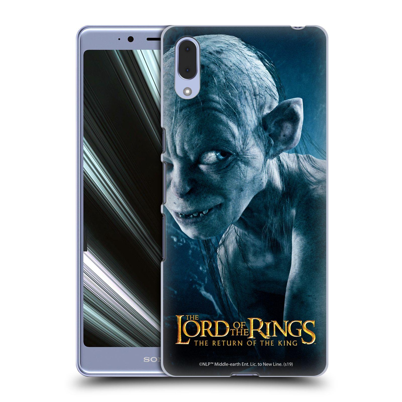 Pouzdro na mobil Sony Xperia L3 - HEAD CASE - Pán Prstenů - Smeagol milášek