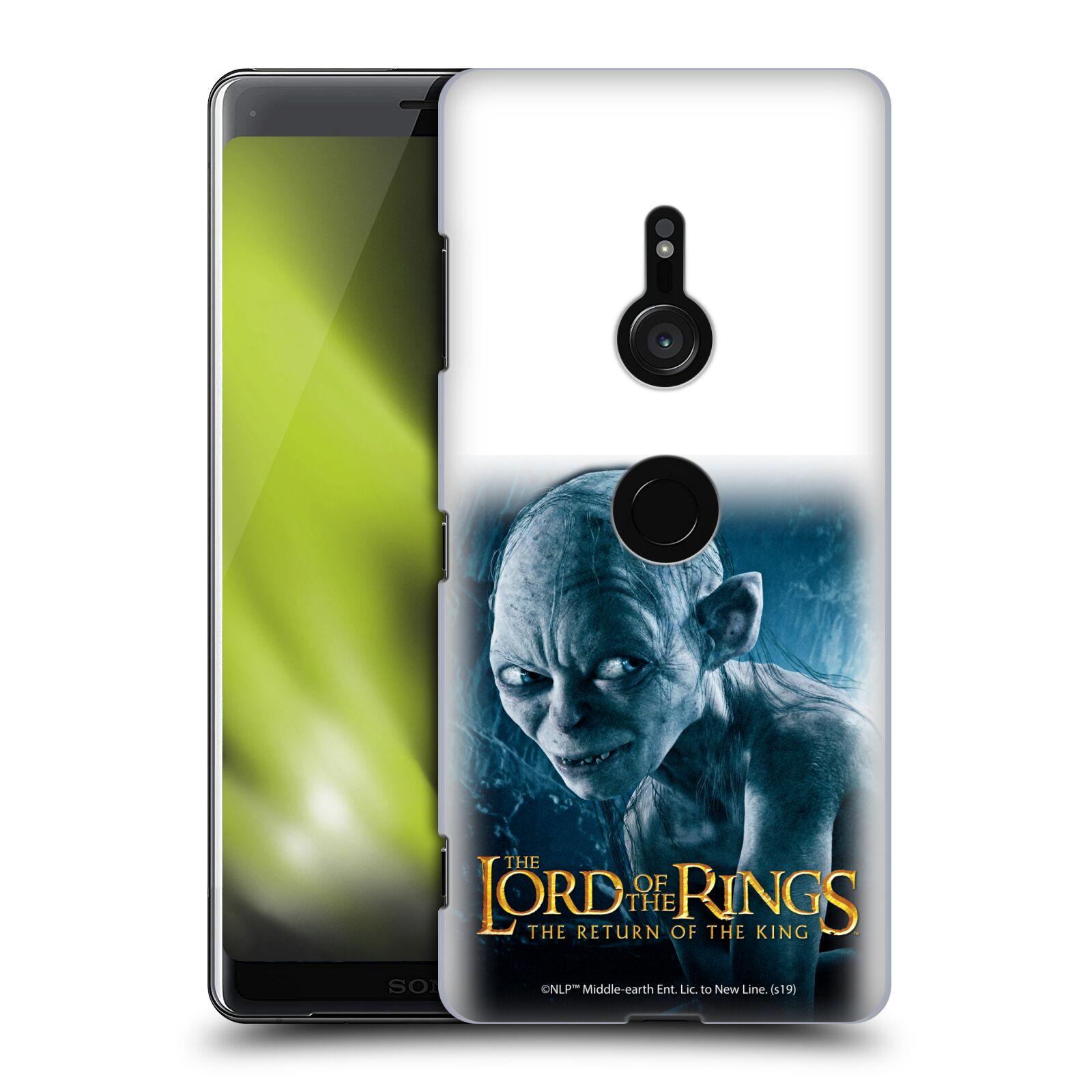 Pouzdro na mobil Sony Xperia XZ3 - HEAD CASE - Pán Prstenů - Smeagol milášek