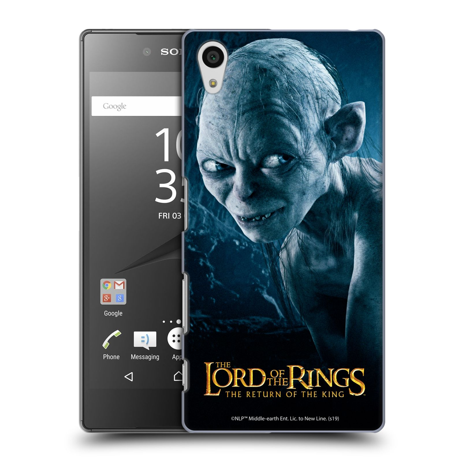 Pouzdro na mobil Sony Xperia Z5 - HEAD CASE - Pán Prstenů - Smeagol milášek