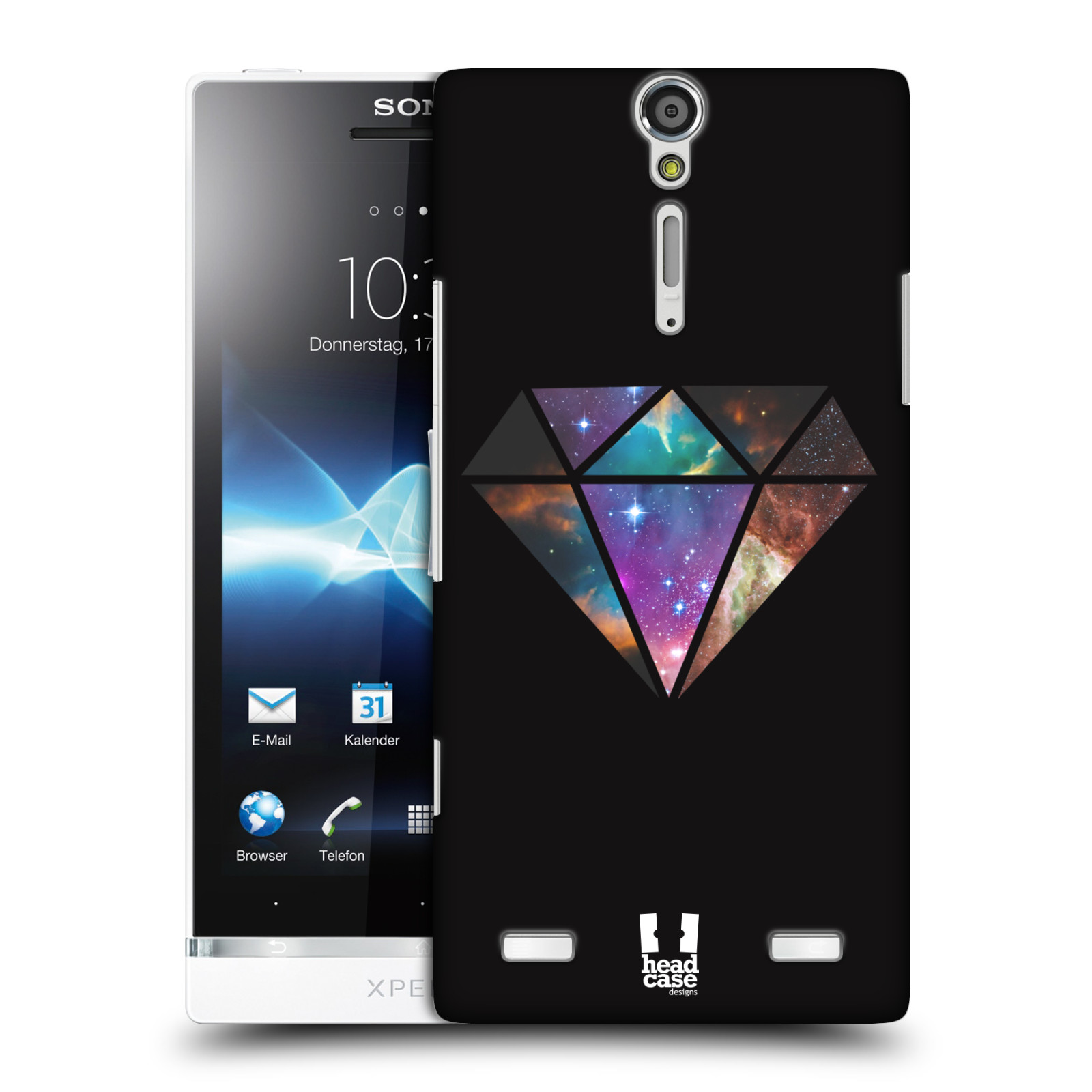 HEAD CASE DESIGNS TREND MIX HARD BACK CASE COVER FOR SONY XPERIA S LT26i