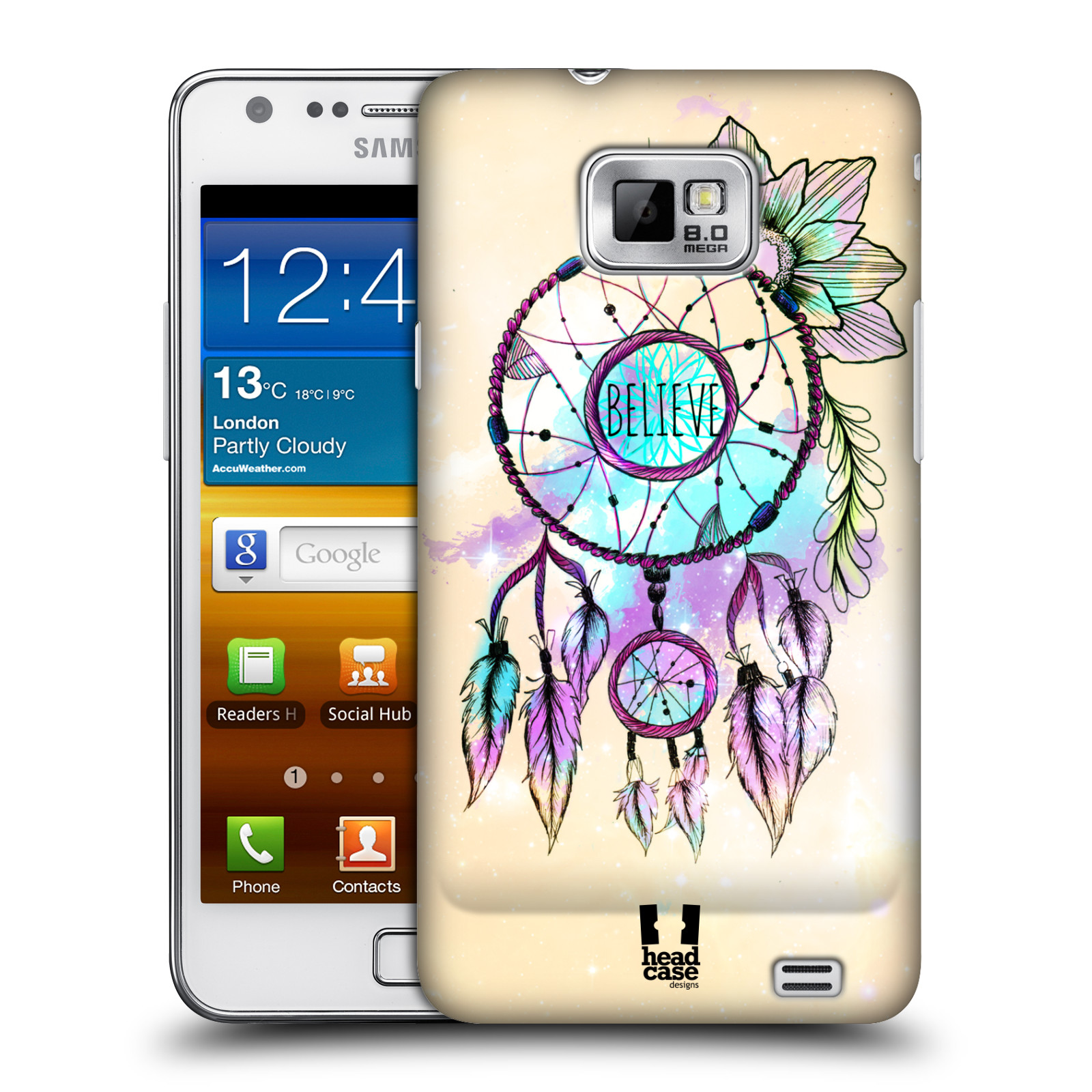HEAD CASE DESIGNS TREND MIX CASE COVER FOR SAMSUNG GALAXY S2 II I9100