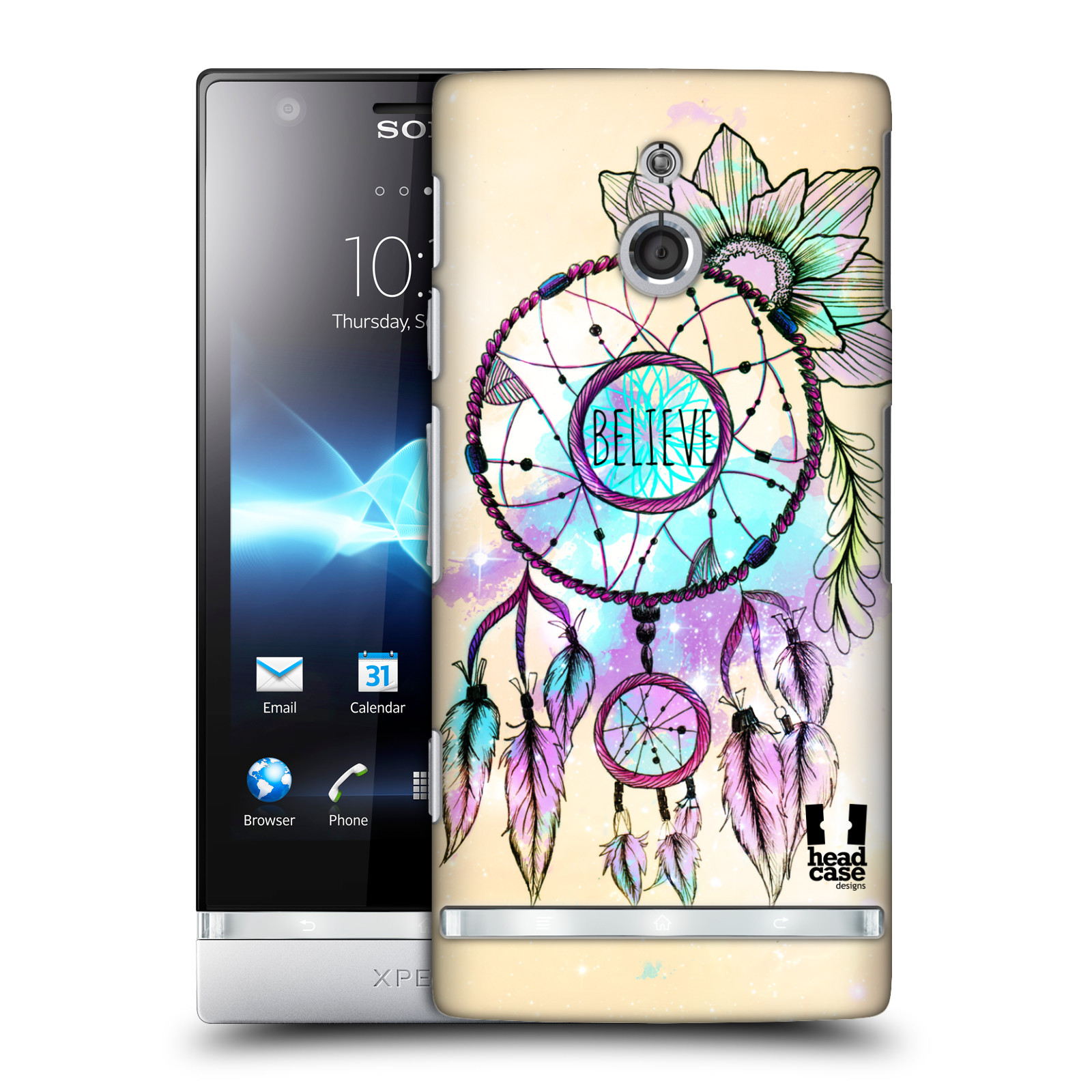 HEAD CASE DESIGNS TREND MIX CASE COVER FOR SONY XPERIA P LT22i
