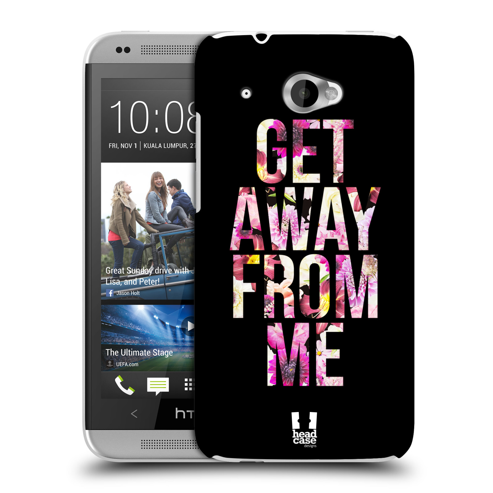 HEAD CASE DESIGNS TREND MIX CASE COVER FOR HTC DESIRE 601 LTE