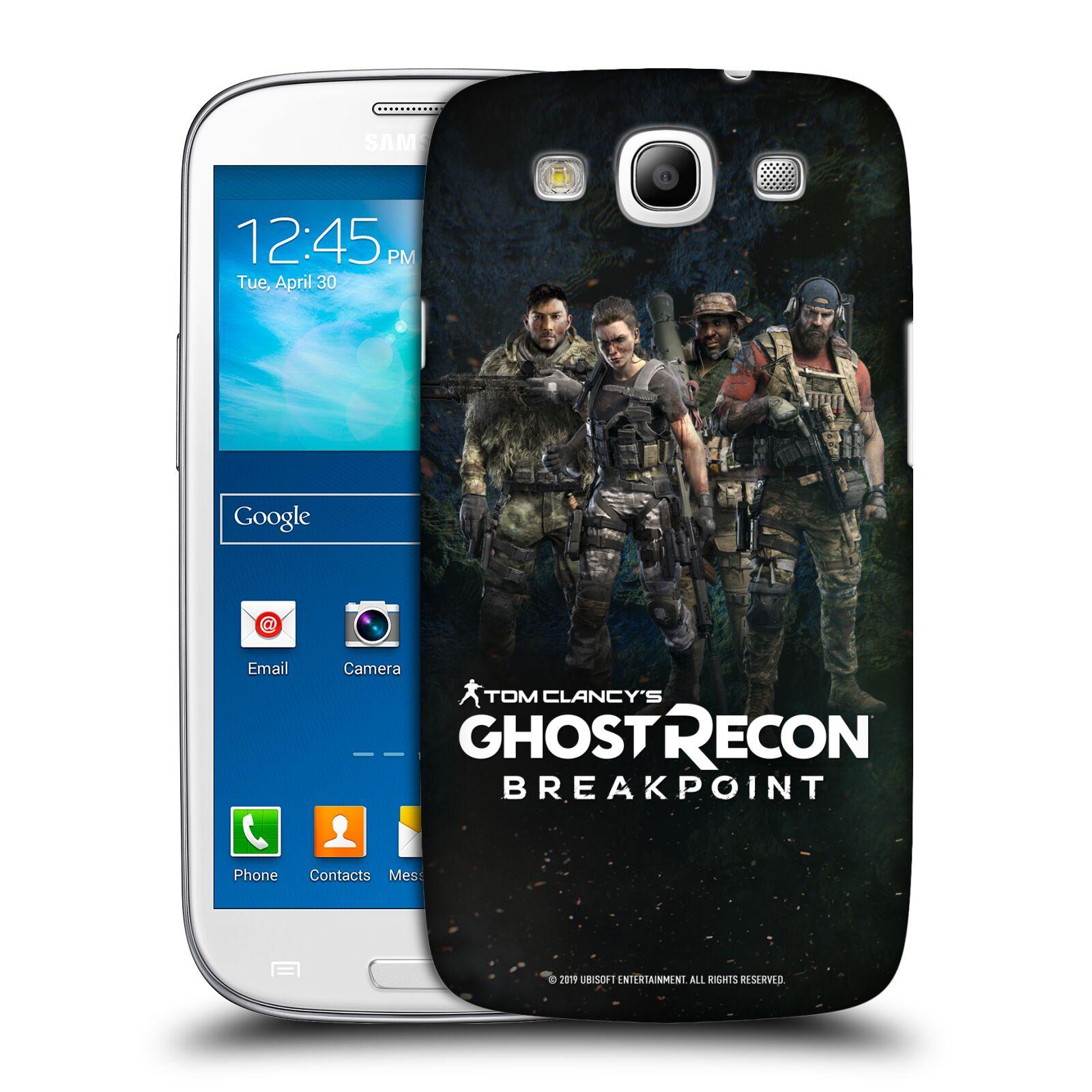 Pouzdro na mobil Samsung Galaxy S3 - HEAD CASE - Tom Clancys Ghost Recon BreakPoint - zásahová skupina