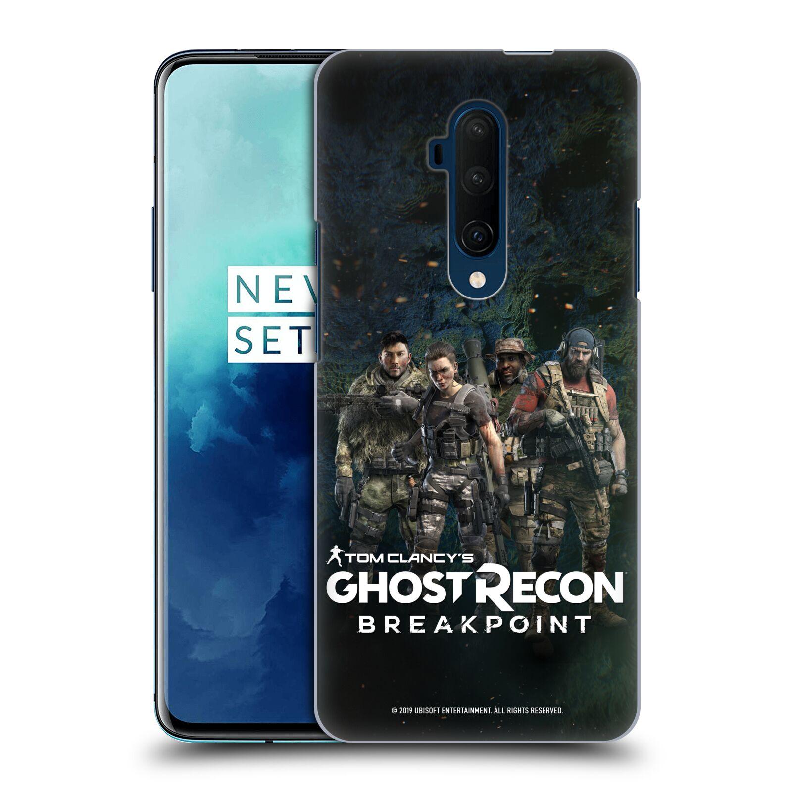 Pouzdro na mobil OnePlus 7T Pro - HEAD CASE - Tom Clancys Ghost Recon BreakPoint - zásahová skupina