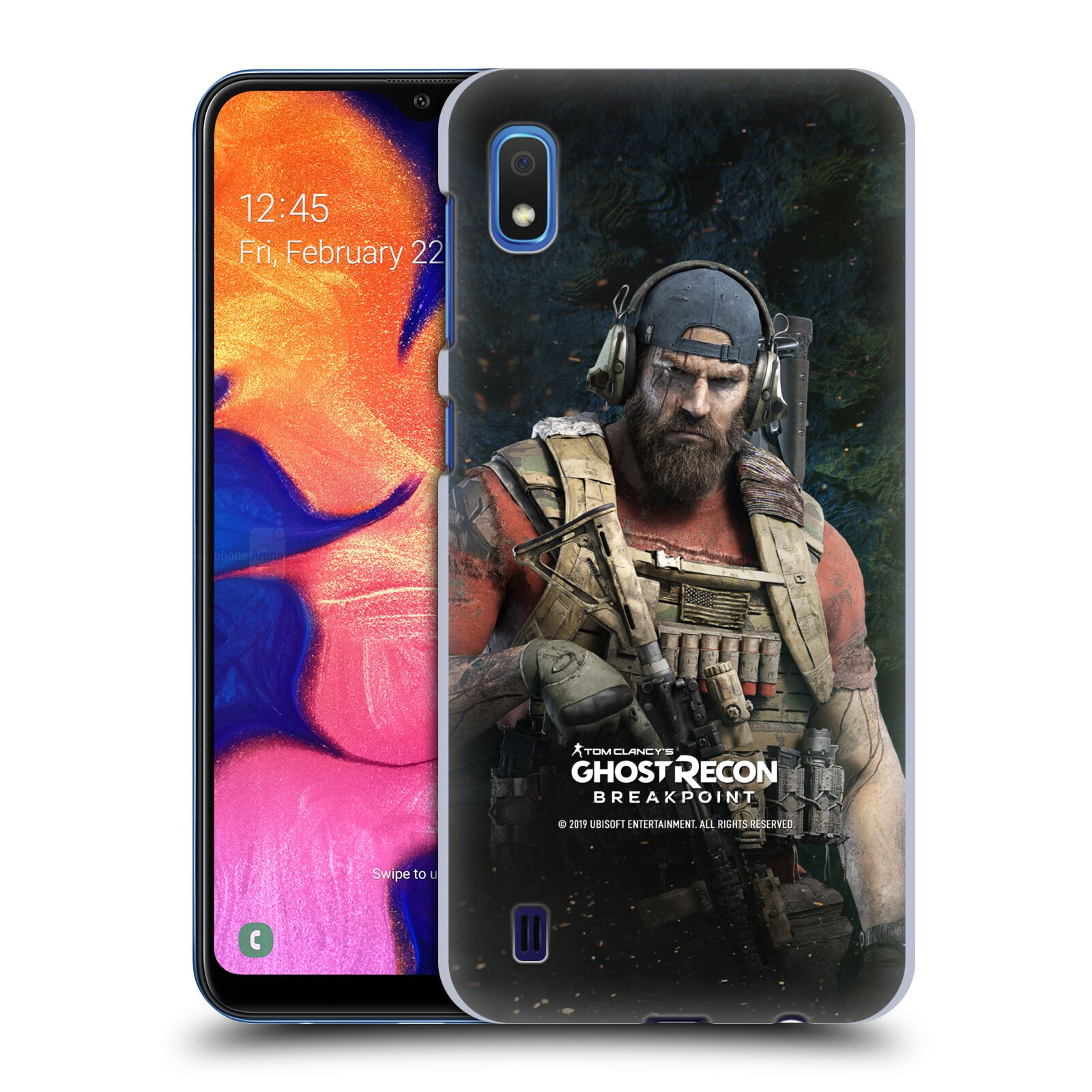 Pouzdro na mobil Samsung Galaxy A10 - HEAD CASE - Tom Clancys Ghost Recon BreakPoint - Nomad
