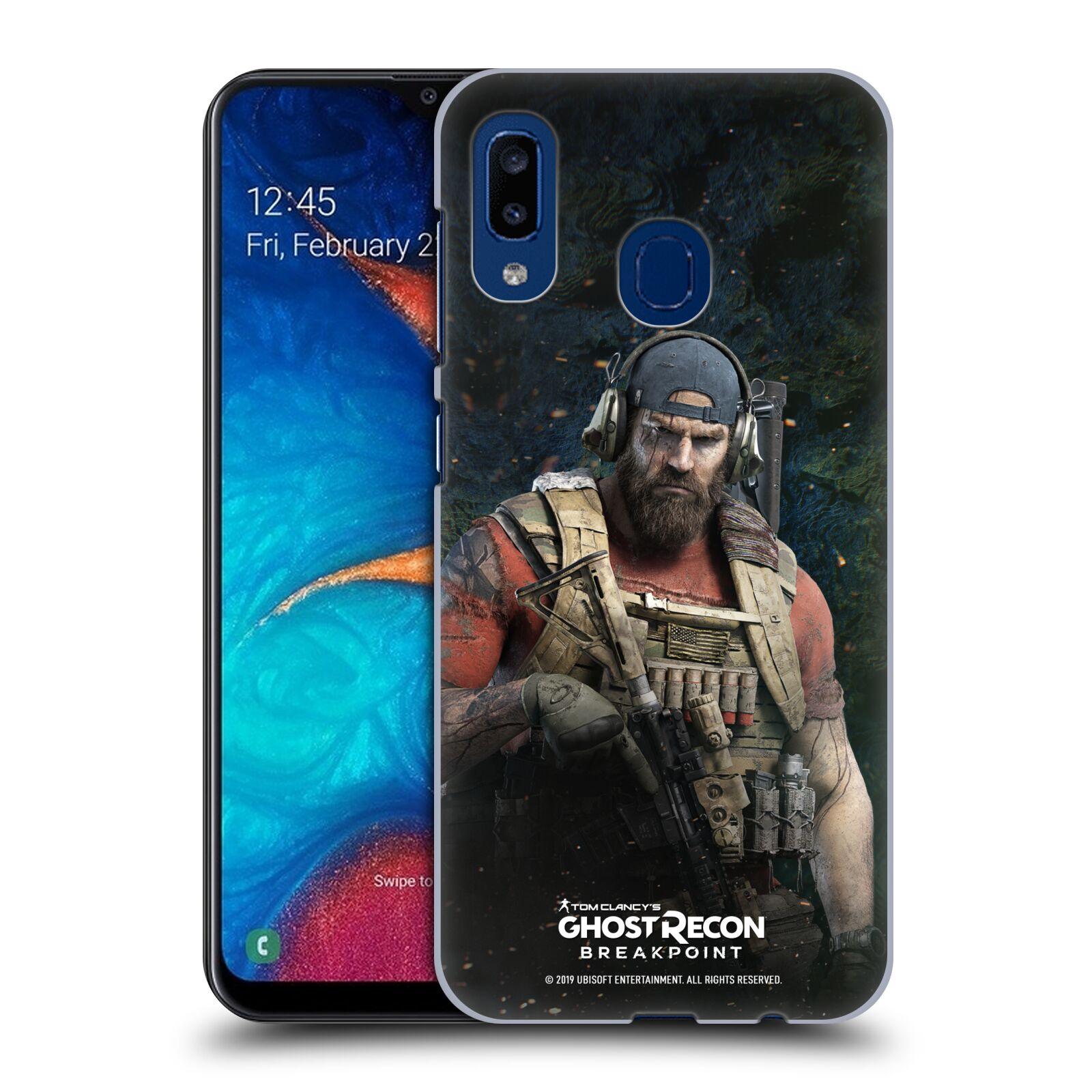 Pouzdro na mobil Samsung Galaxy A20 - HEAD CASE - Tom Clancys Ghost Recon BreakPoint - Nomad