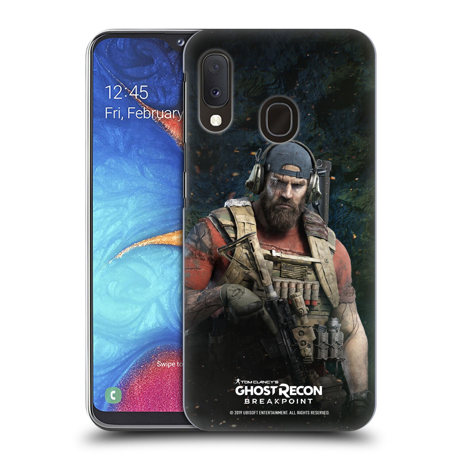 Pouzdro na mobil Samsung Galaxy A20e - HEAD CASE - Tom Clancys Ghost Recon BreakPoint - Nomad