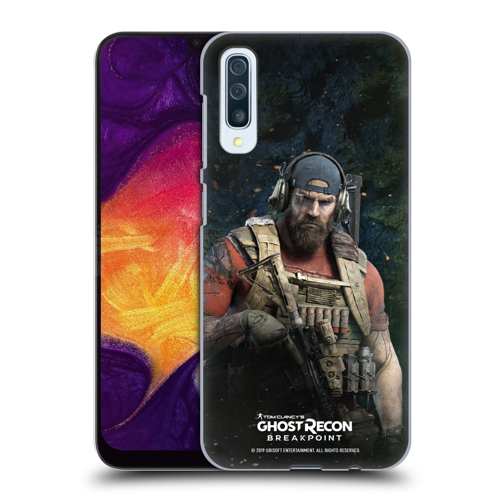 Pouzdro na mobil Samsung Galaxy A50 - HEAD CASE - Tom Clancys Ghost Recon BreakPoint - Nomad