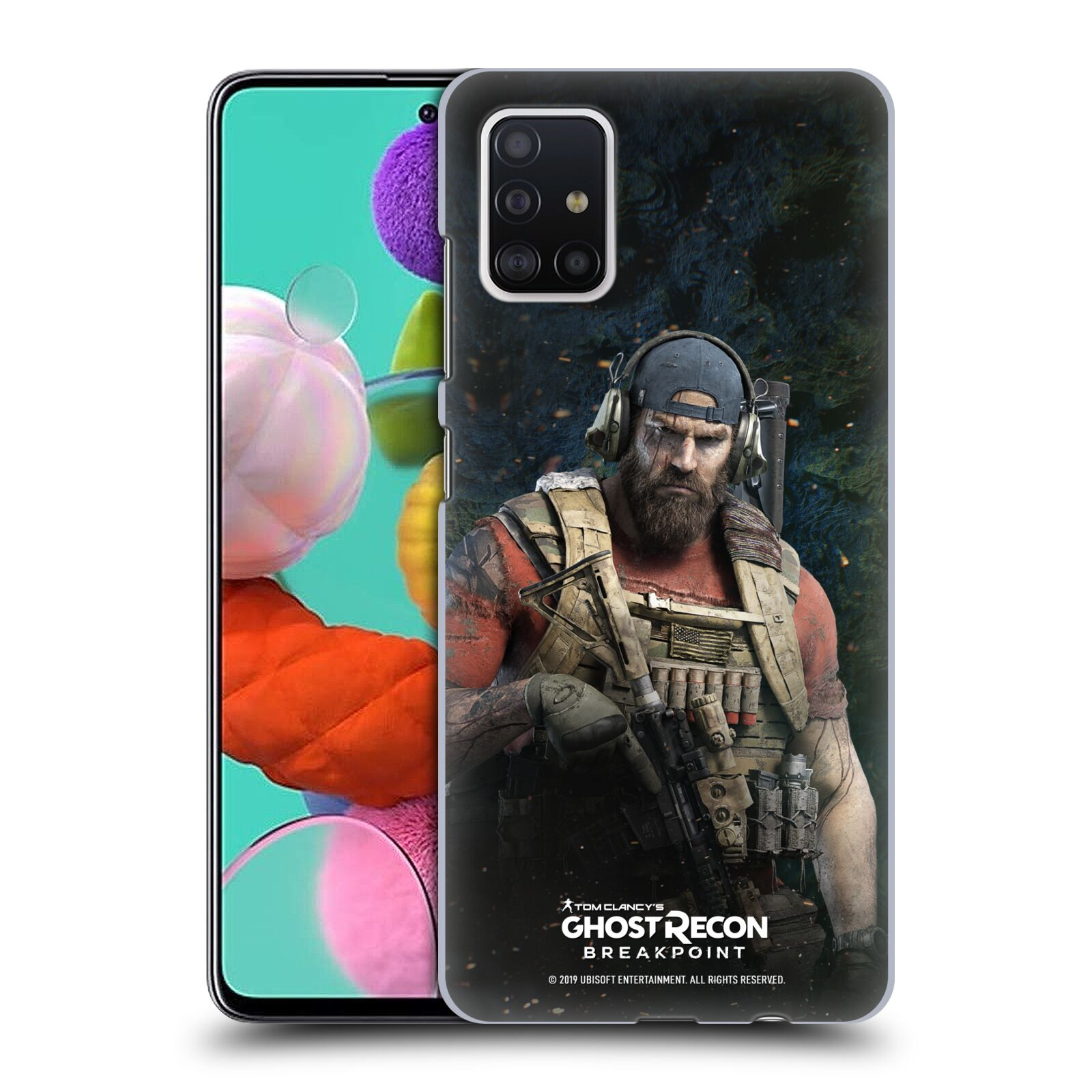 Pouzdro na mobil Samsung Galaxy A51 - HEAD CASE - Tom Clancys Ghost Recon BreakPoint - Nomad