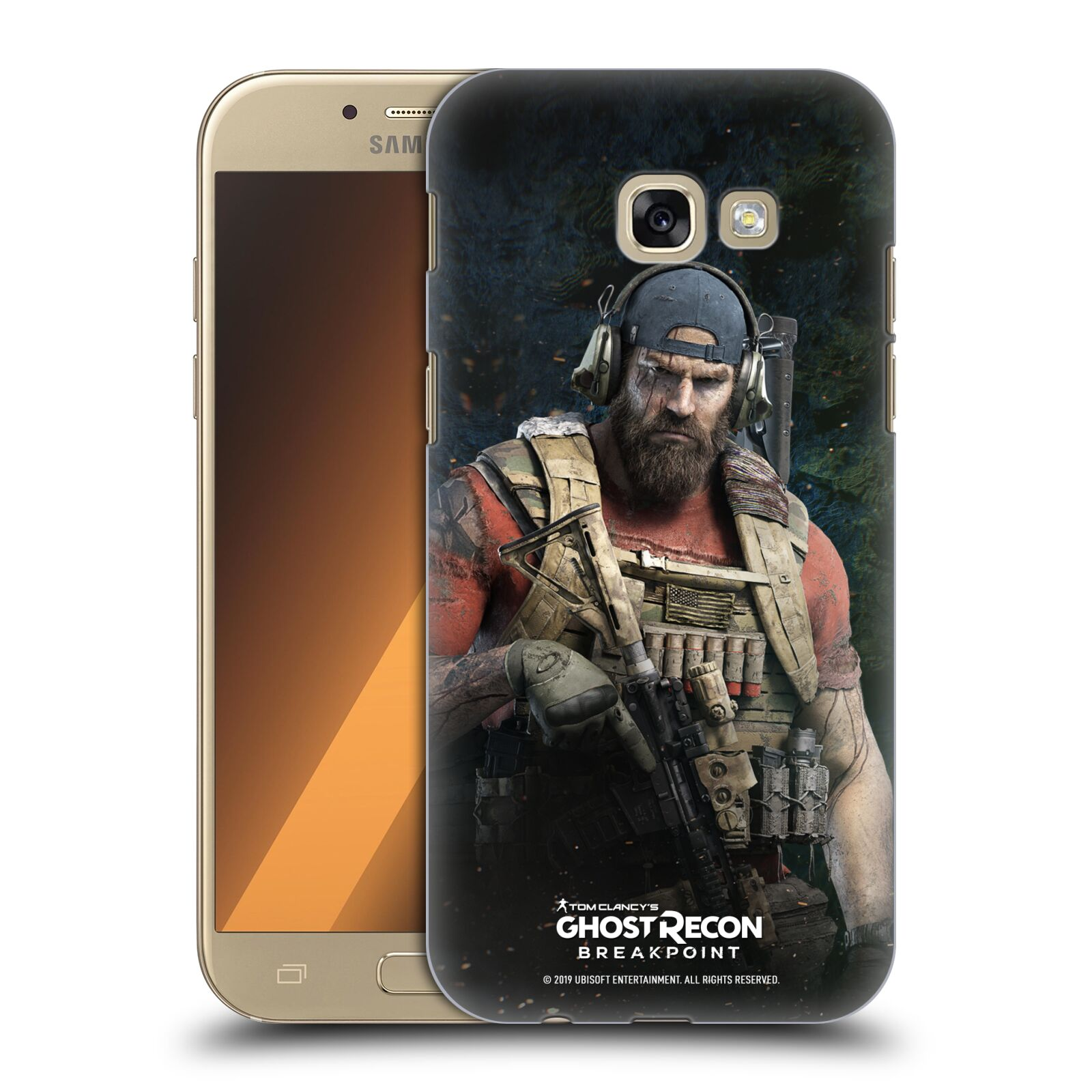 Pouzdro na mobil Samsung Galaxy A5 2017 (A520) - HEAD CASE - Tom Clancys Ghost Recon BreakPoint - Nomad