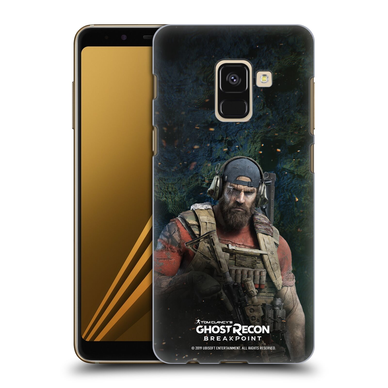 Pouzdro na mobil Samsung Galaxy A8+ 2018, A8 PLUS 2018 - HEAD CASE - Tom Clancys Ghost Recon BreakPoint - Nomad