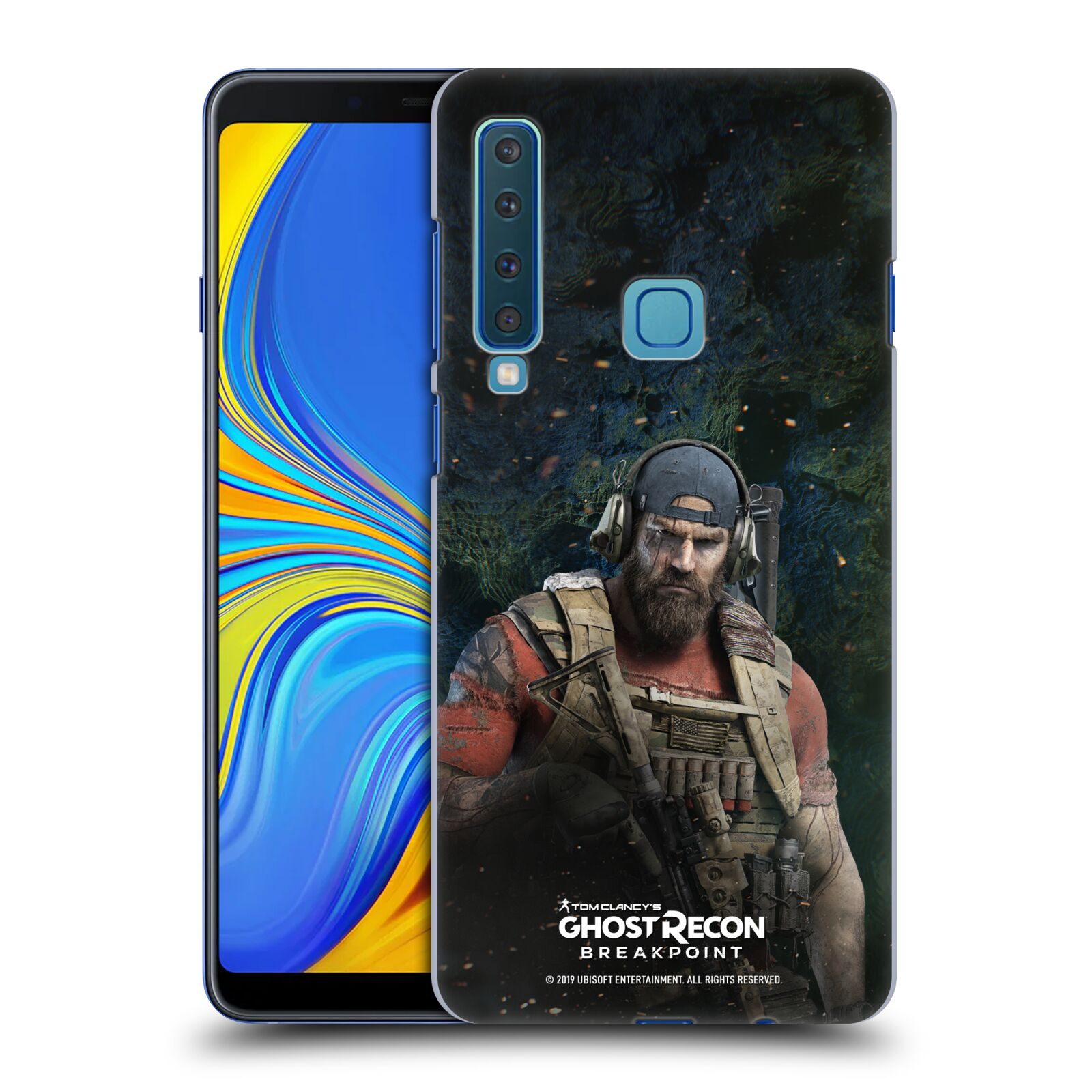 Pouzdro na mobil Samsung Galaxy A9 2018 - HEAD CASE - Tom Clancys Ghost Recon BreakPoint - Nomad