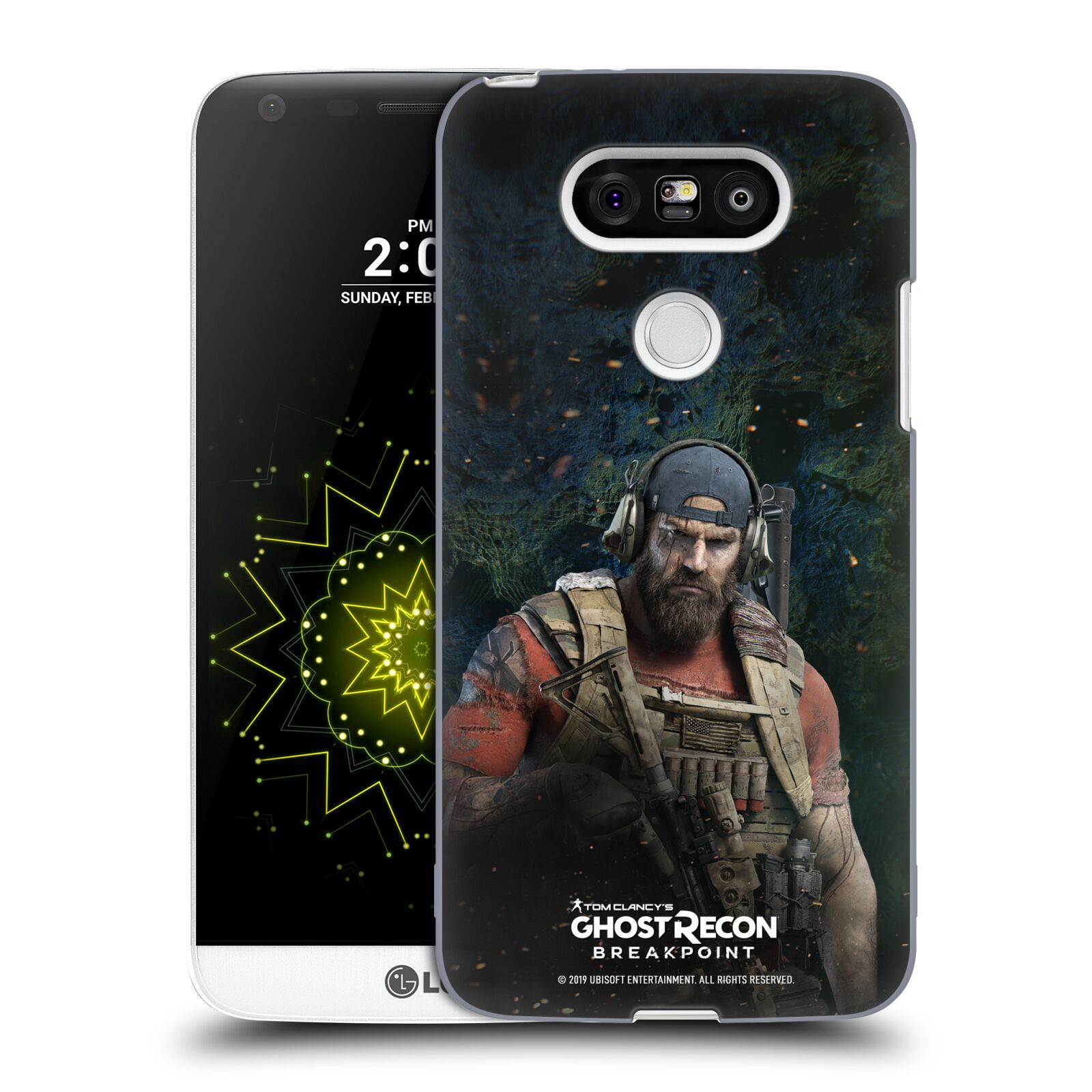 Pouzdro na mobil LG G5 - HEAD CASE - Tom Clancys Ghost Recon BreakPoint - Nomad