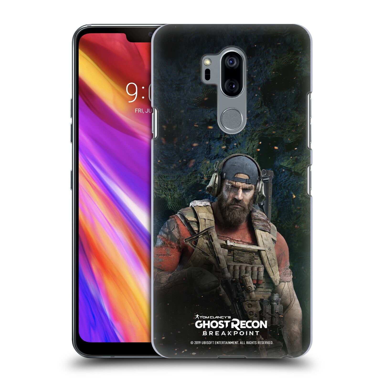 Pouzdro na mobil LG G7  ThinQ - HEAD CASE - Tom Clancys Ghost Recon BreakPoint - Nomad