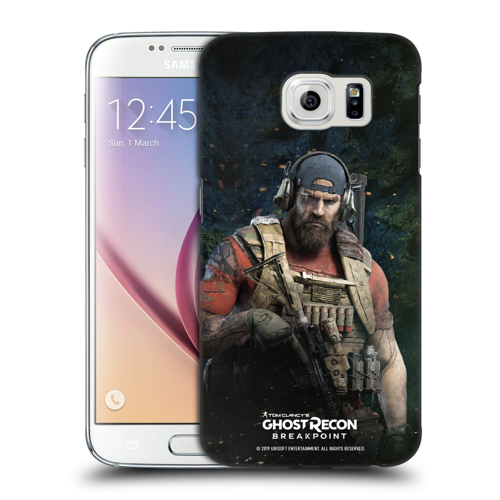Pouzdro na mobil Samsung Galaxy S6 - HEAD CASE - Tom Clancys Ghost Recon BreakPoint - Nomad