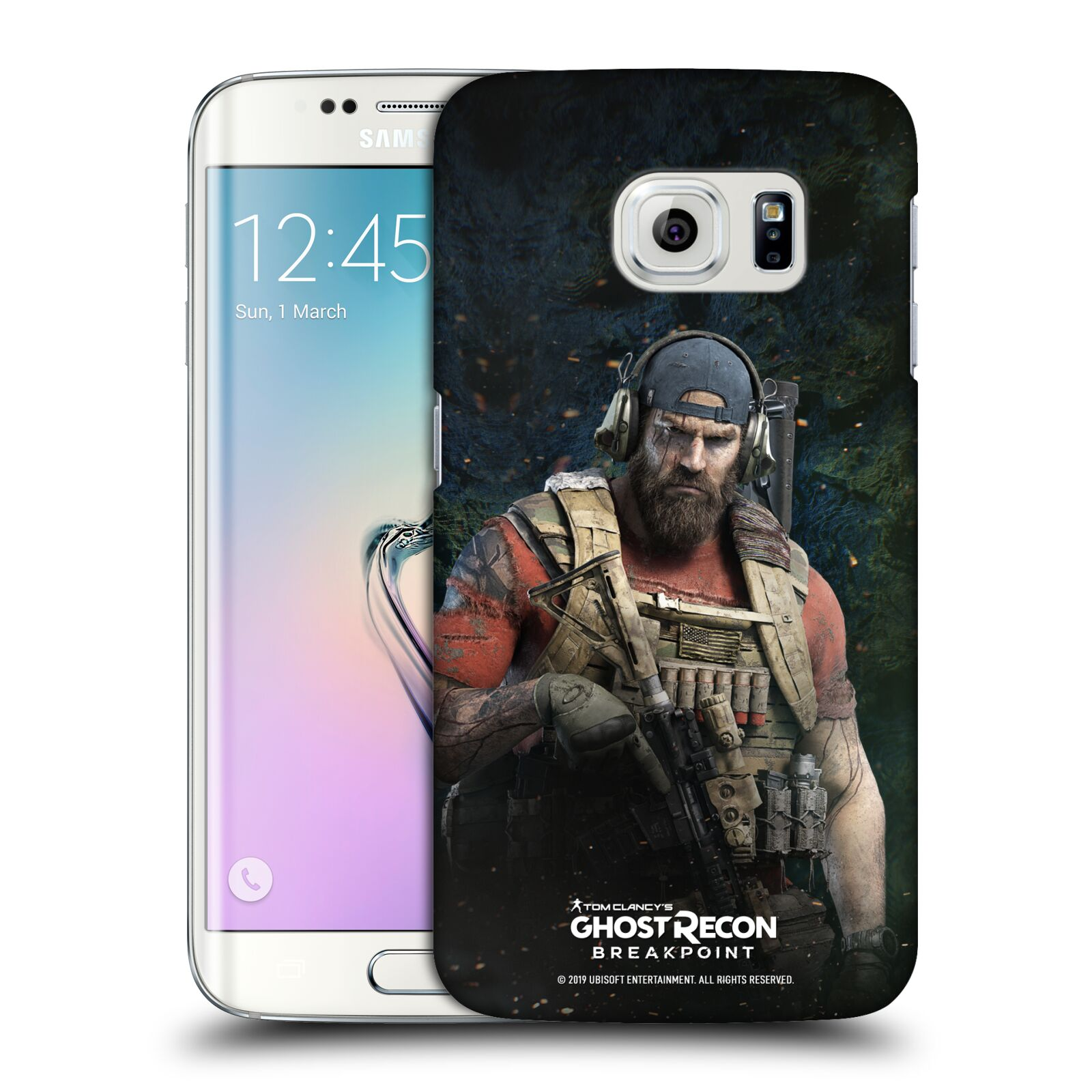 Pouzdro na mobil Samsung Galaxy S6 EDGE - HEAD CASE - Tom Clancys Ghost Recon BreakPoint - Nomad