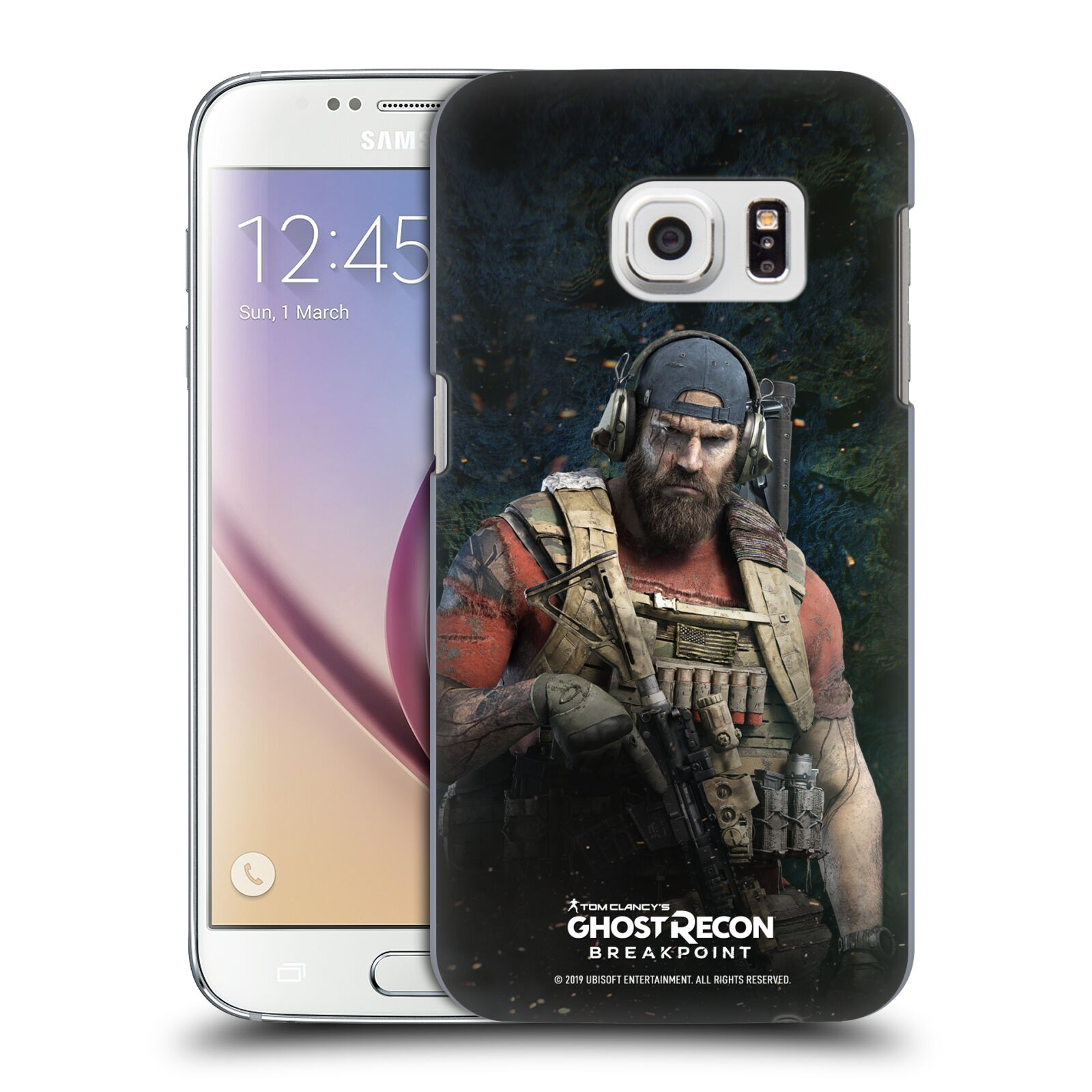 Pouzdro na mobil Samsung Galaxy S7 - HEAD CASE - Tom Clancys Ghost Recon BreakPoint - Nomad