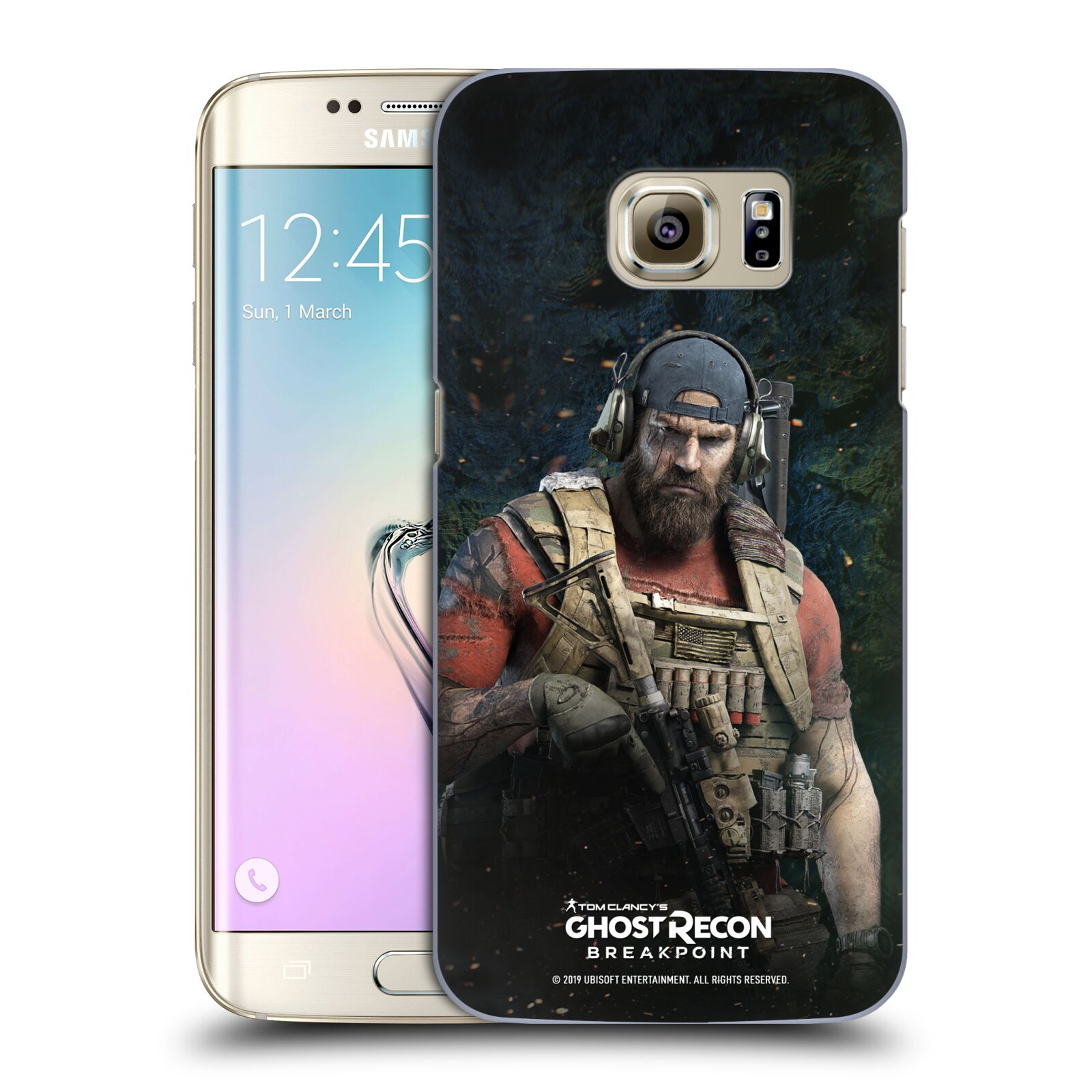 Pouzdro na mobil Samsung Galaxy S7 EDGE - HEAD CASE - Tom Clancys Ghost Recon BreakPoint - Nomad