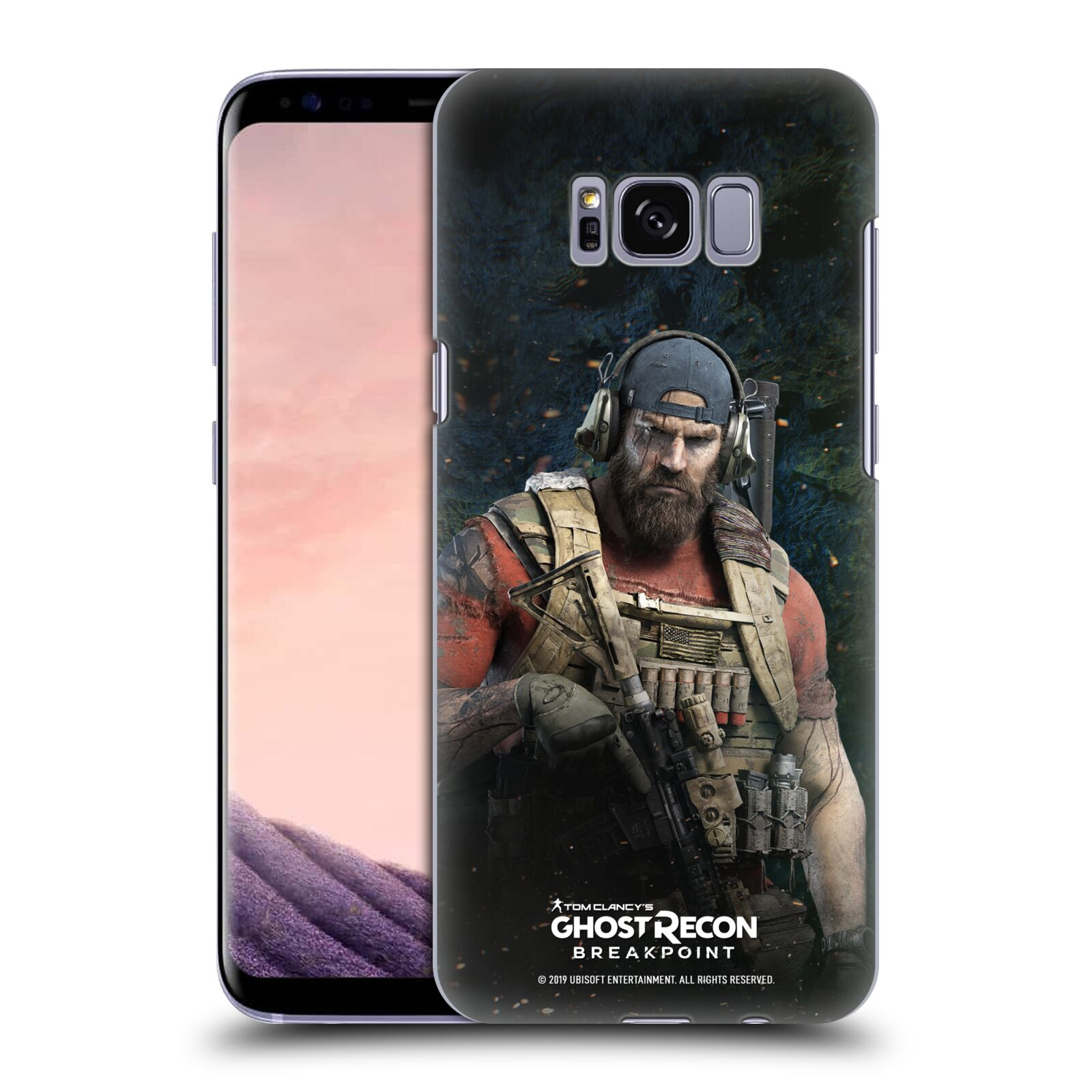 Pouzdro na mobil Samsung Galaxy S8 - HEAD CASE - Tom Clancys Ghost Recon BreakPoint - Nomad