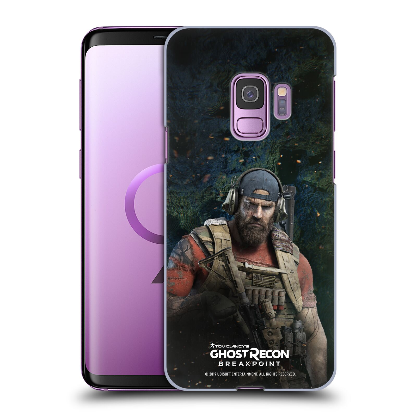 Pouzdro na mobil Samsung Galaxy S9 - HEAD CASE - Tom Clancys Ghost Recon BreakPoint - Nomad