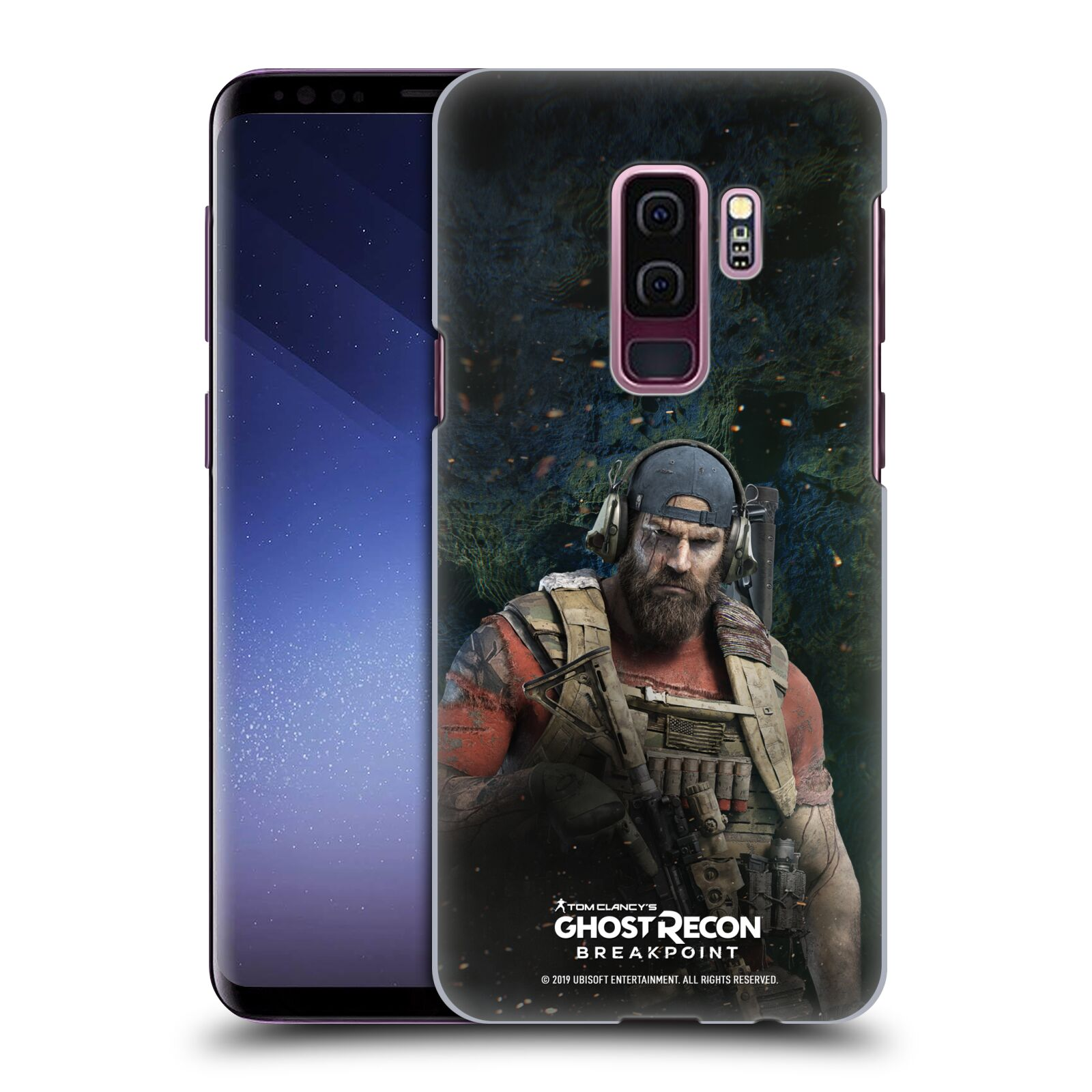 Pouzdro na mobil Samsung Galaxy S9+ / S9 PLUS - HEAD CASE - Tom Clancys Ghost Recon BreakPoint - Nomad